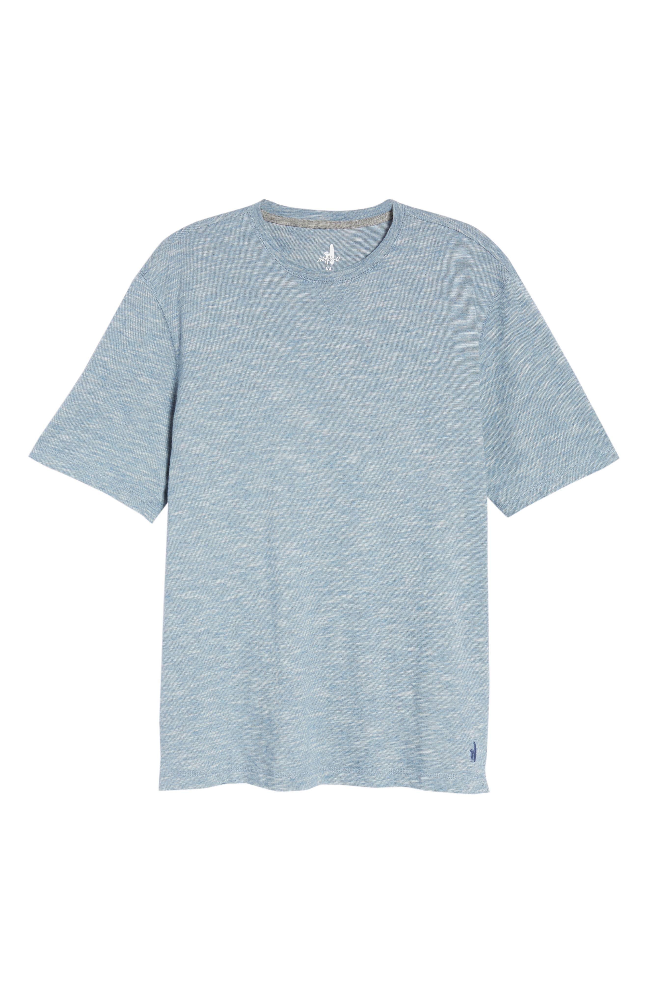Slubbie Regular Fit Crewneck T-Shirt,                             Alternate thumbnail 6, color,                             021