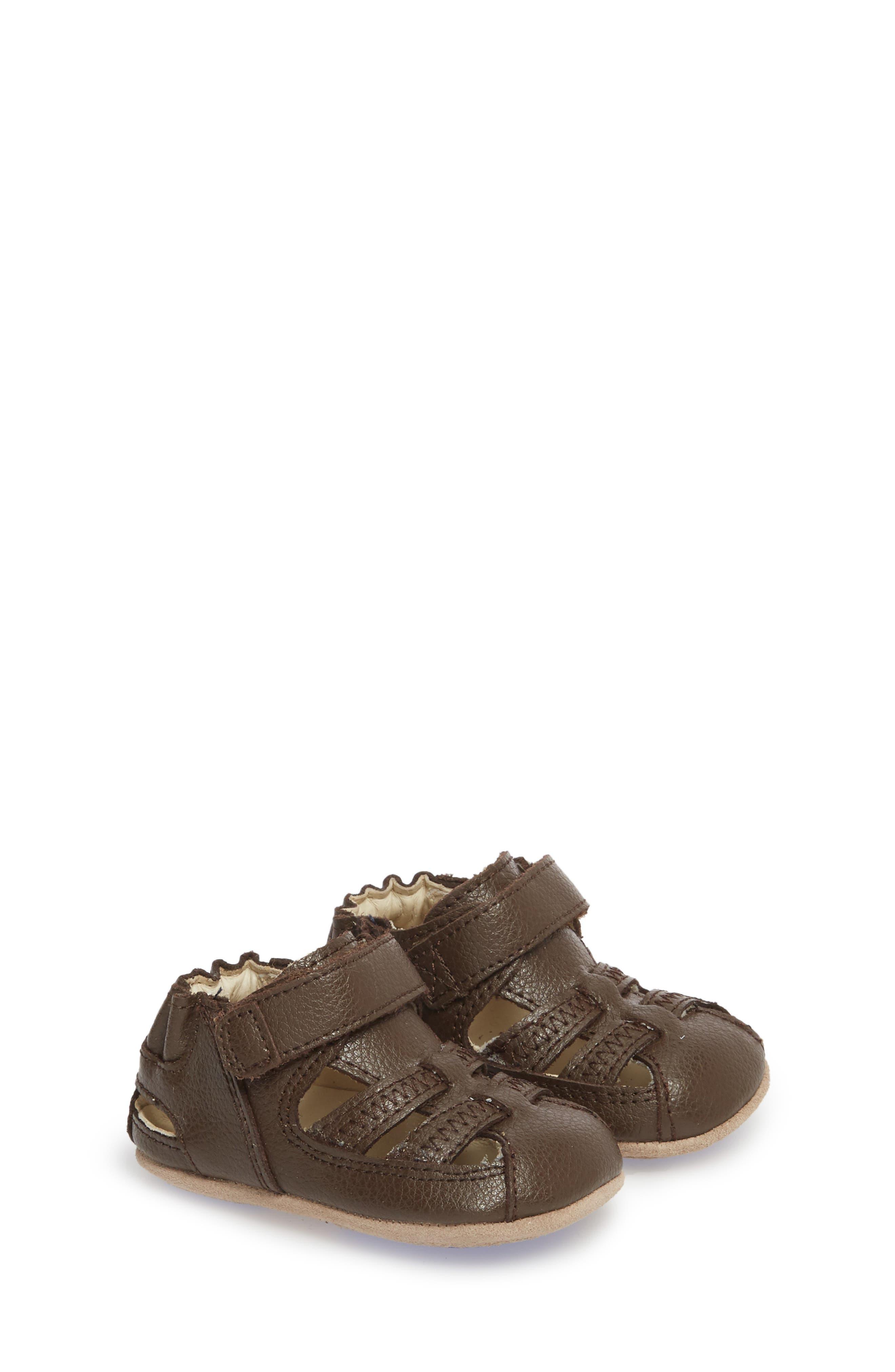 Sandal,                             Main thumbnail 1, color,                             BROWN