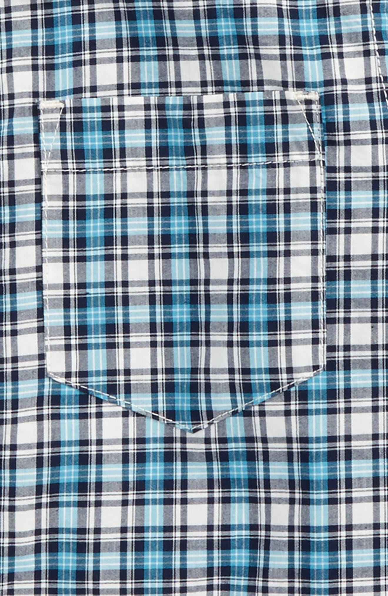 Heath Plaid Woven Shirt,                             Alternate thumbnail 2, color,                             103