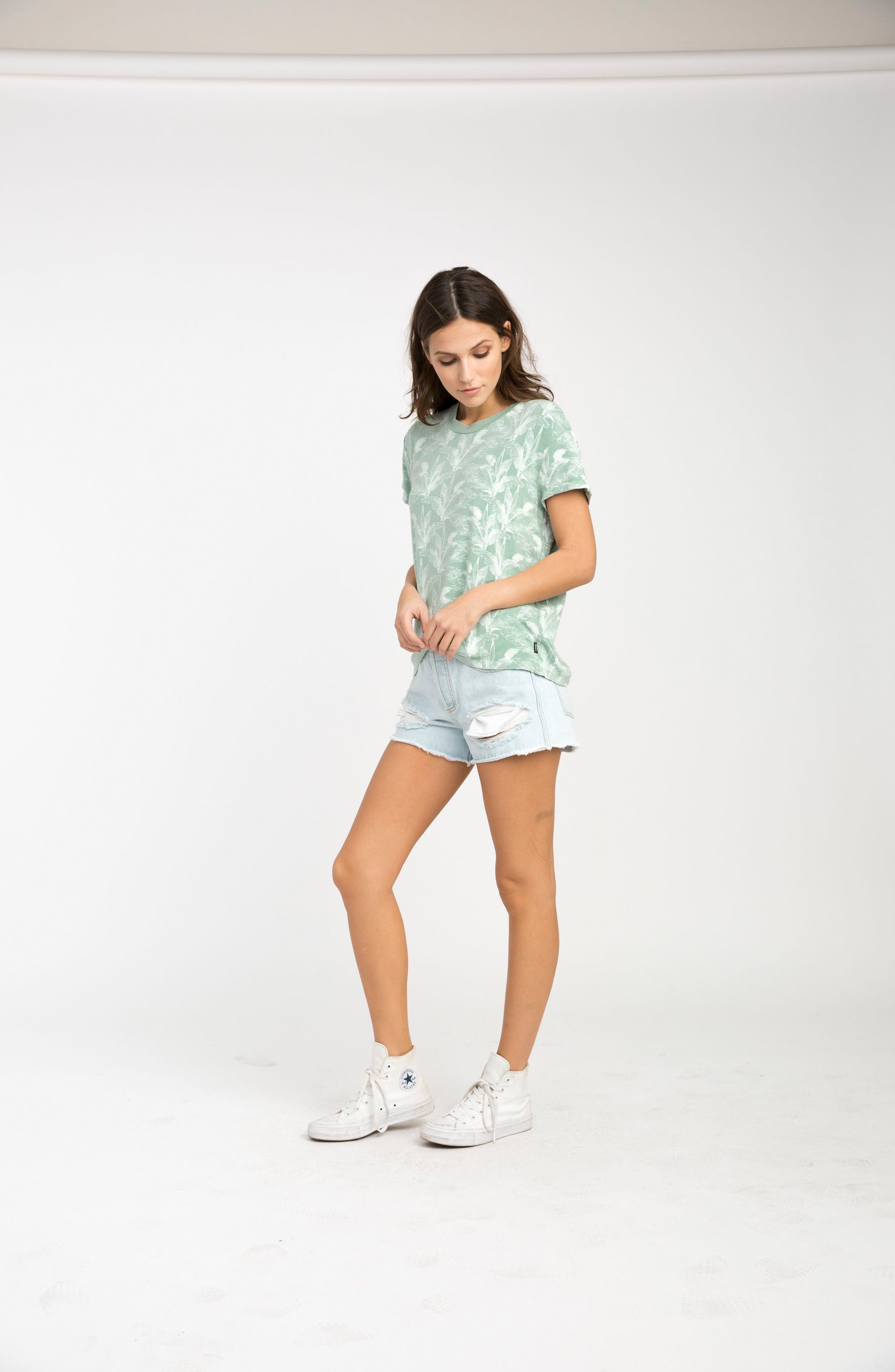 Suspension Print Stretch Modal Tee,                             Alternate thumbnail 8, color,                             382