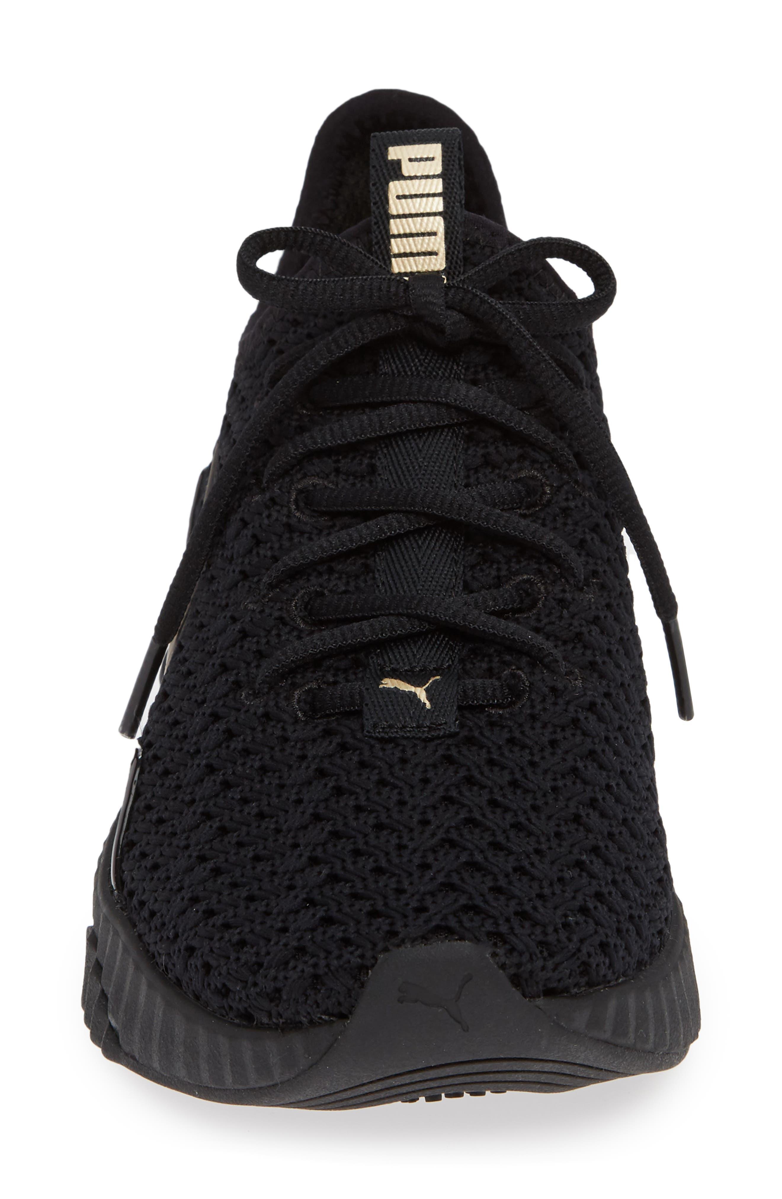 Defy Varsity Sneaker,                             Alternate thumbnail 4, color,                             001