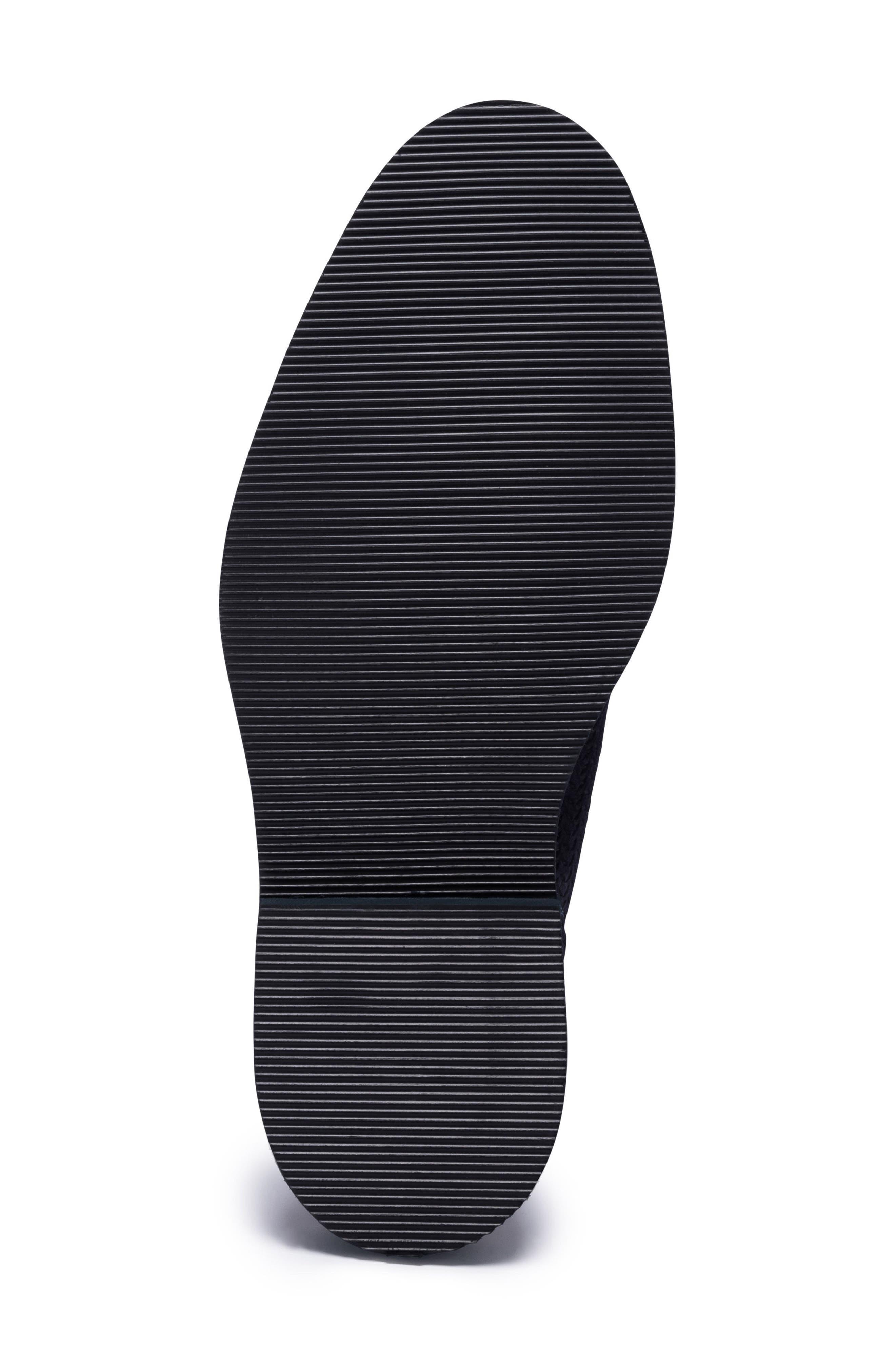 Woven Plain Toe Derby,                             Alternate thumbnail 6, color,                             BLUE SUEDE