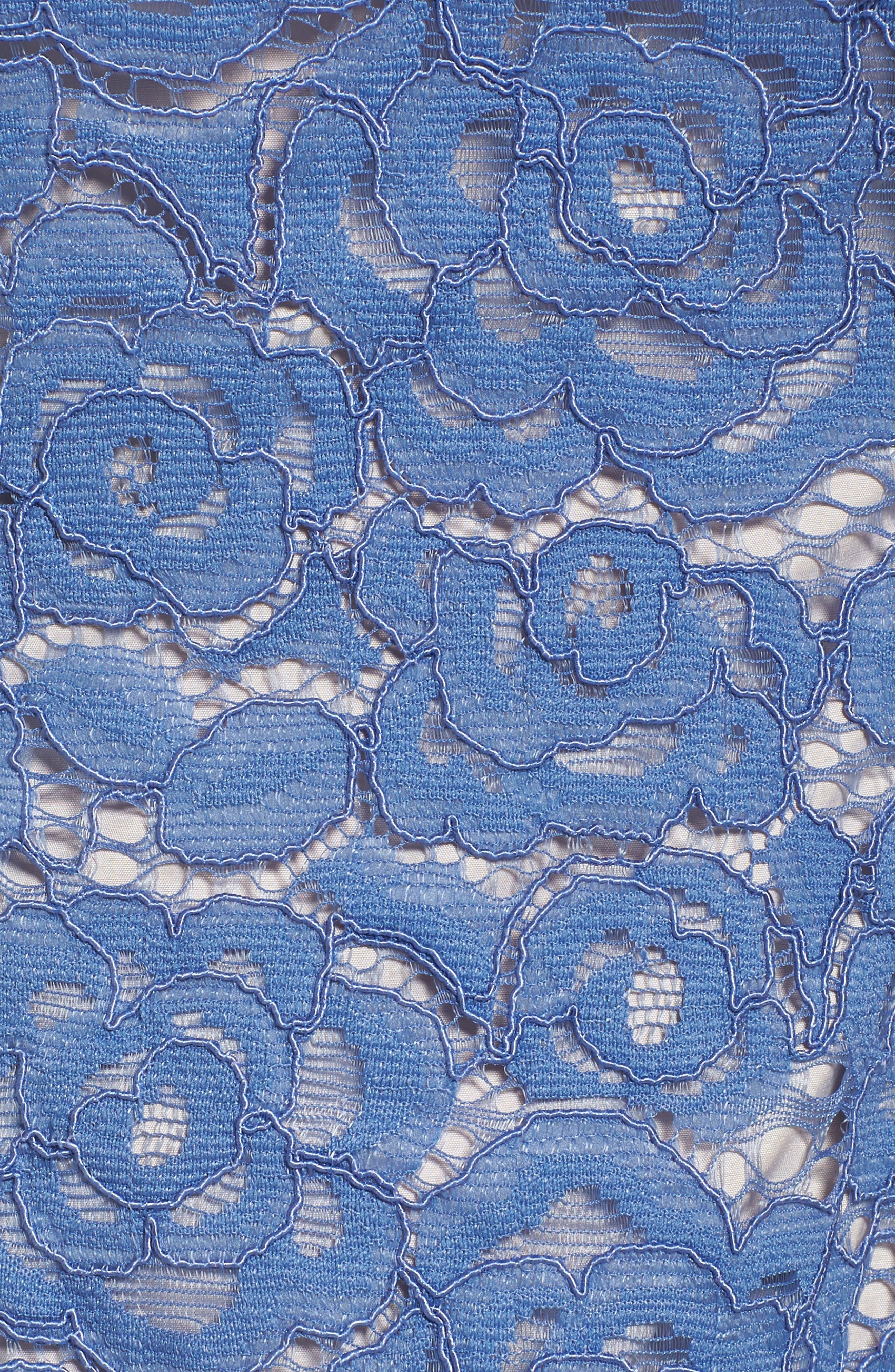 Off the Shoulder Lace Sheath Dress,                             Alternate thumbnail 26, color,