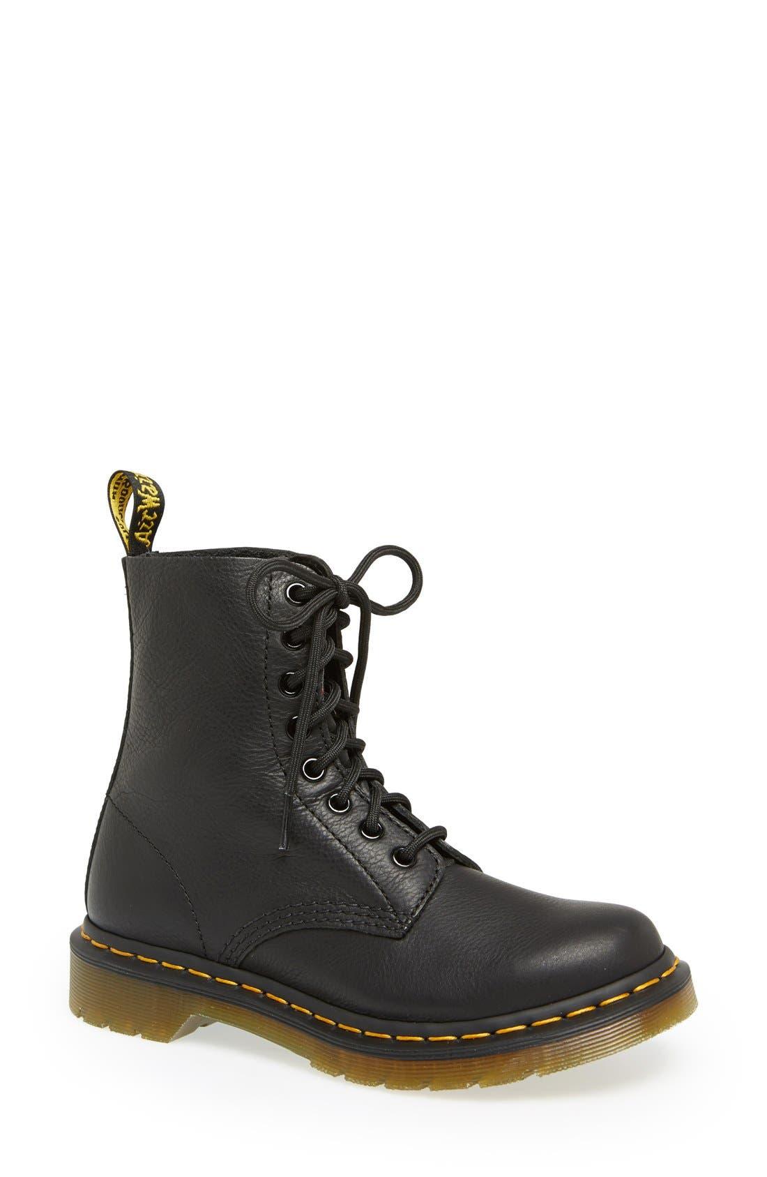 'Pascal' Boot,                         Main,                         color, BLACK VIRGINIA