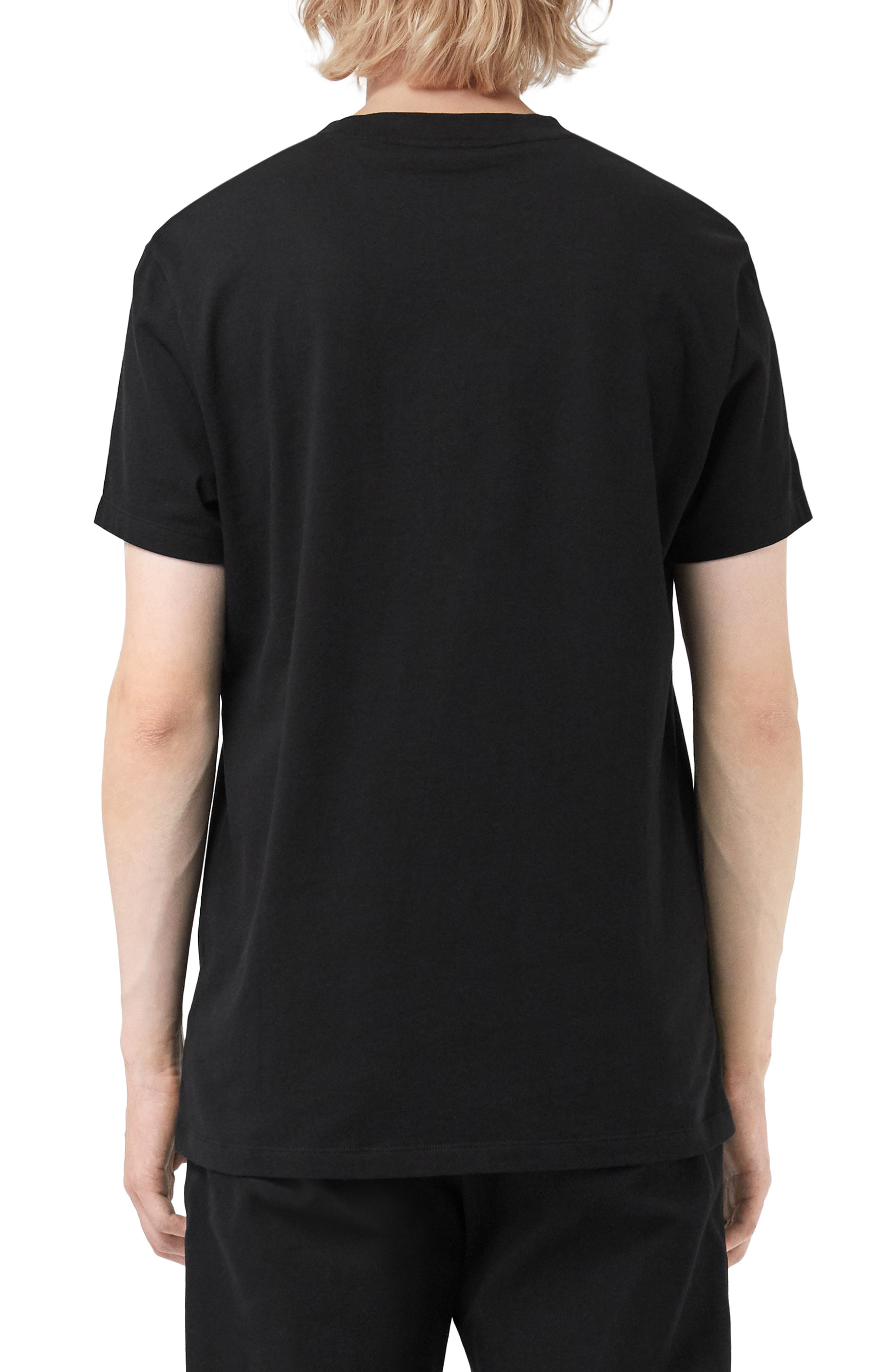 Paris Logo T-Shirt,                             Alternate thumbnail 2, color,                             BLACK