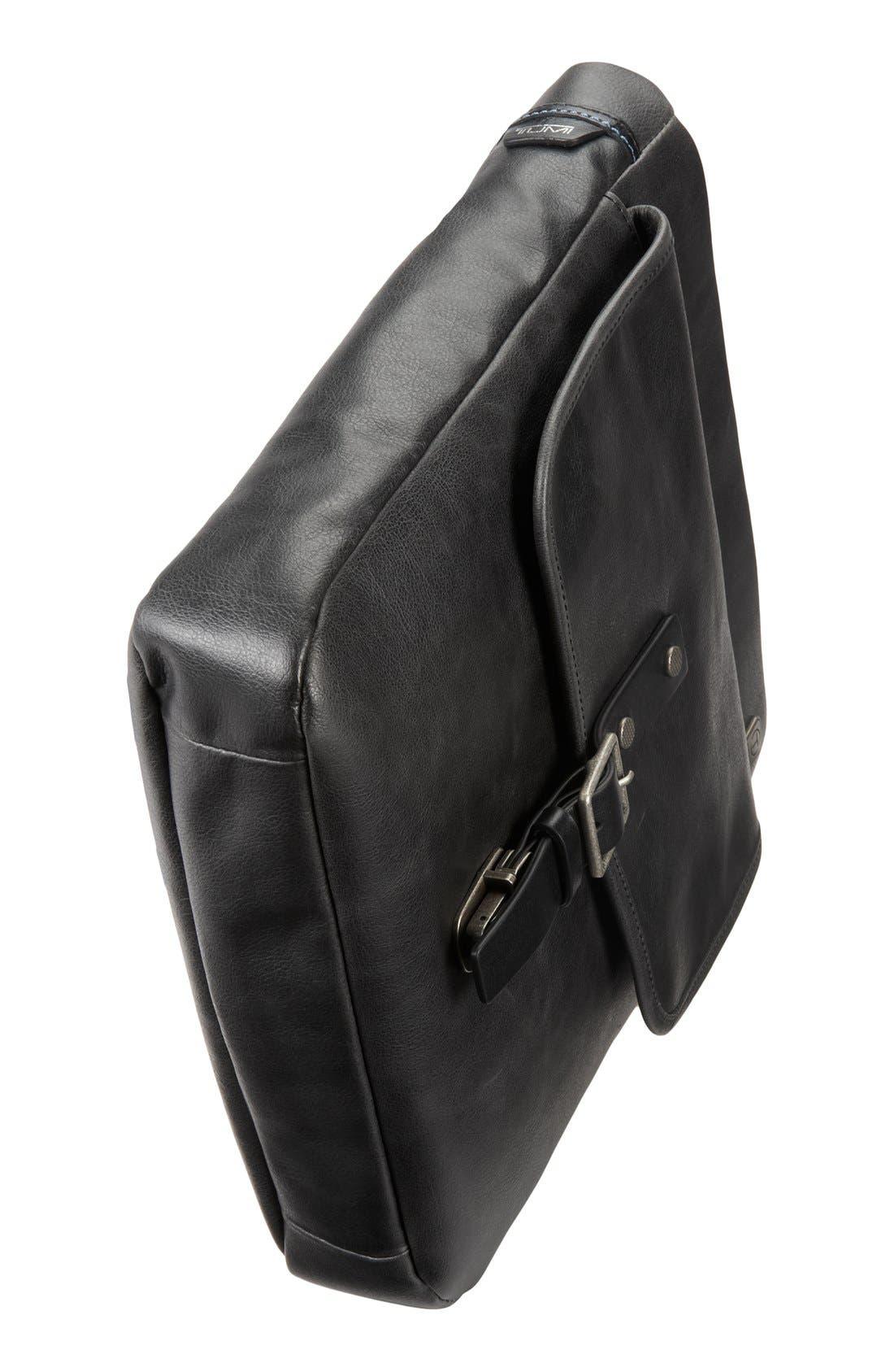 T-Tech by Tumi 'Forge - Pueblo' Top Zip Crossbody Bag,                             Alternate thumbnail 5, color,                             001