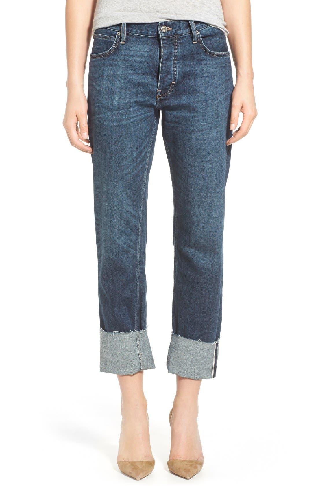 'Phoebe' Boyfriend Jeans,                             Main thumbnail 1, color,                             460