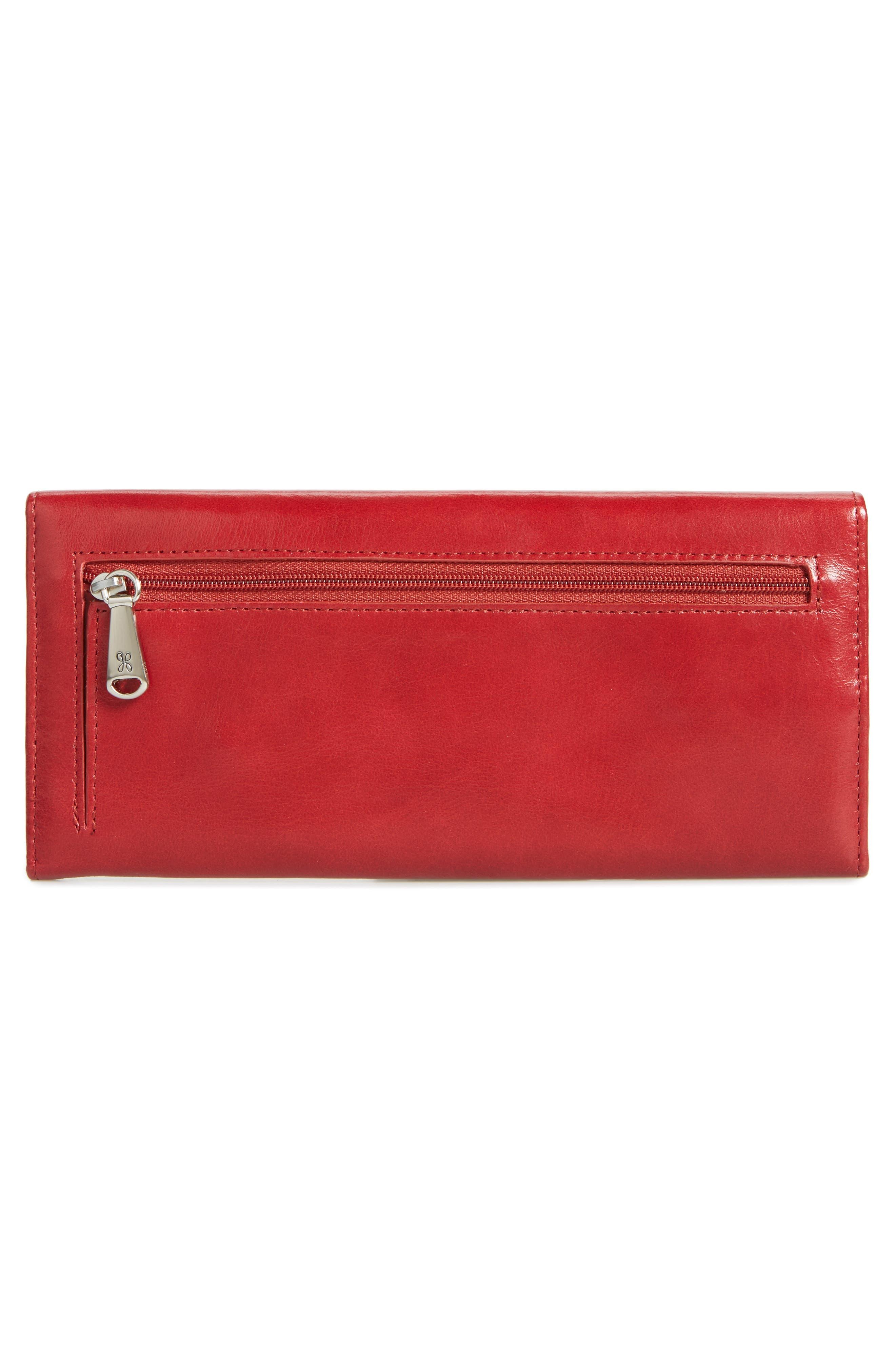 'Sadie' Leather Wallet,                             Alternate thumbnail 110, color,