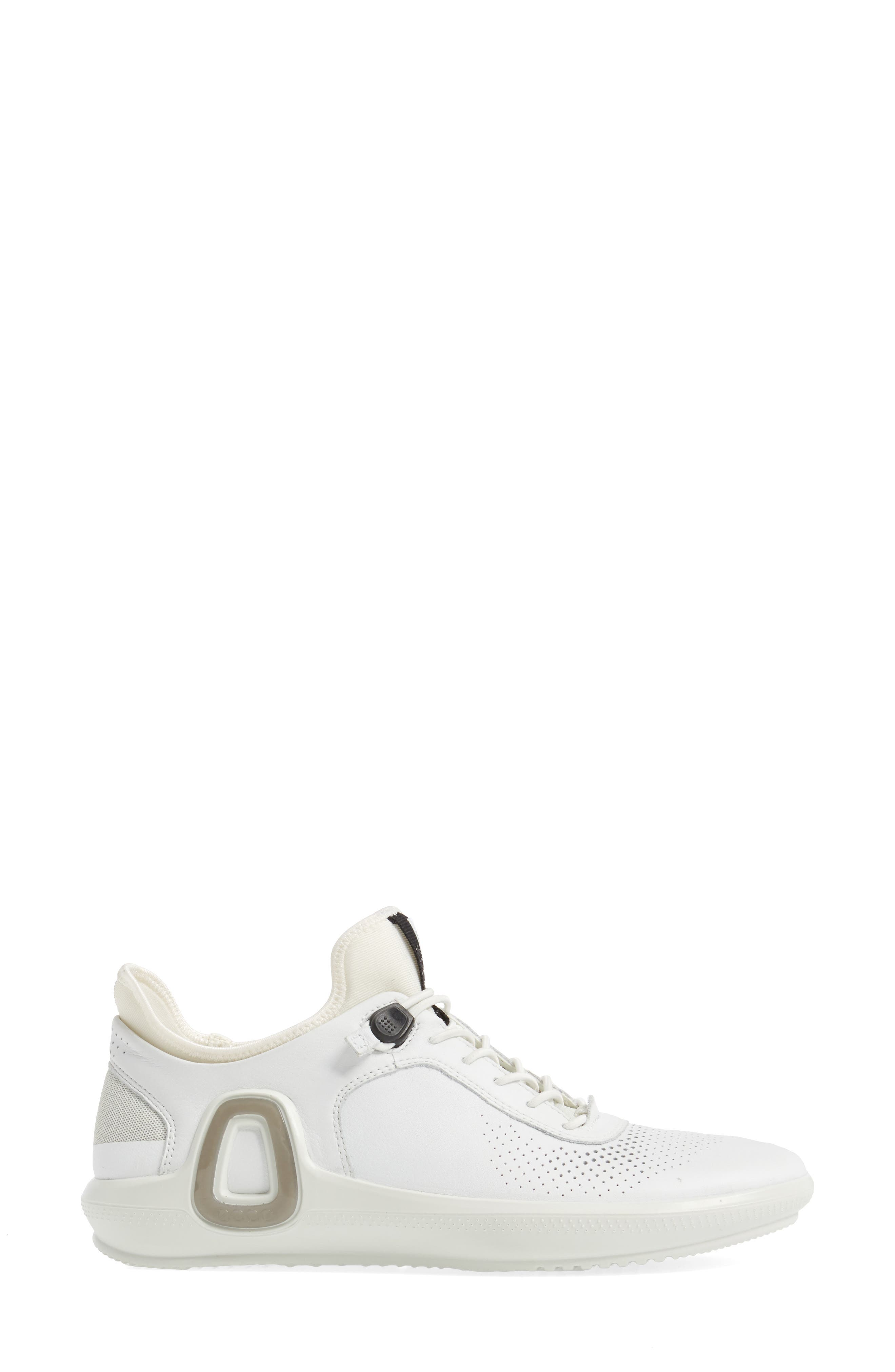 Intrinsic 3 Sneaker,                             Alternate thumbnail 3, color,                             WHITE LEATHER