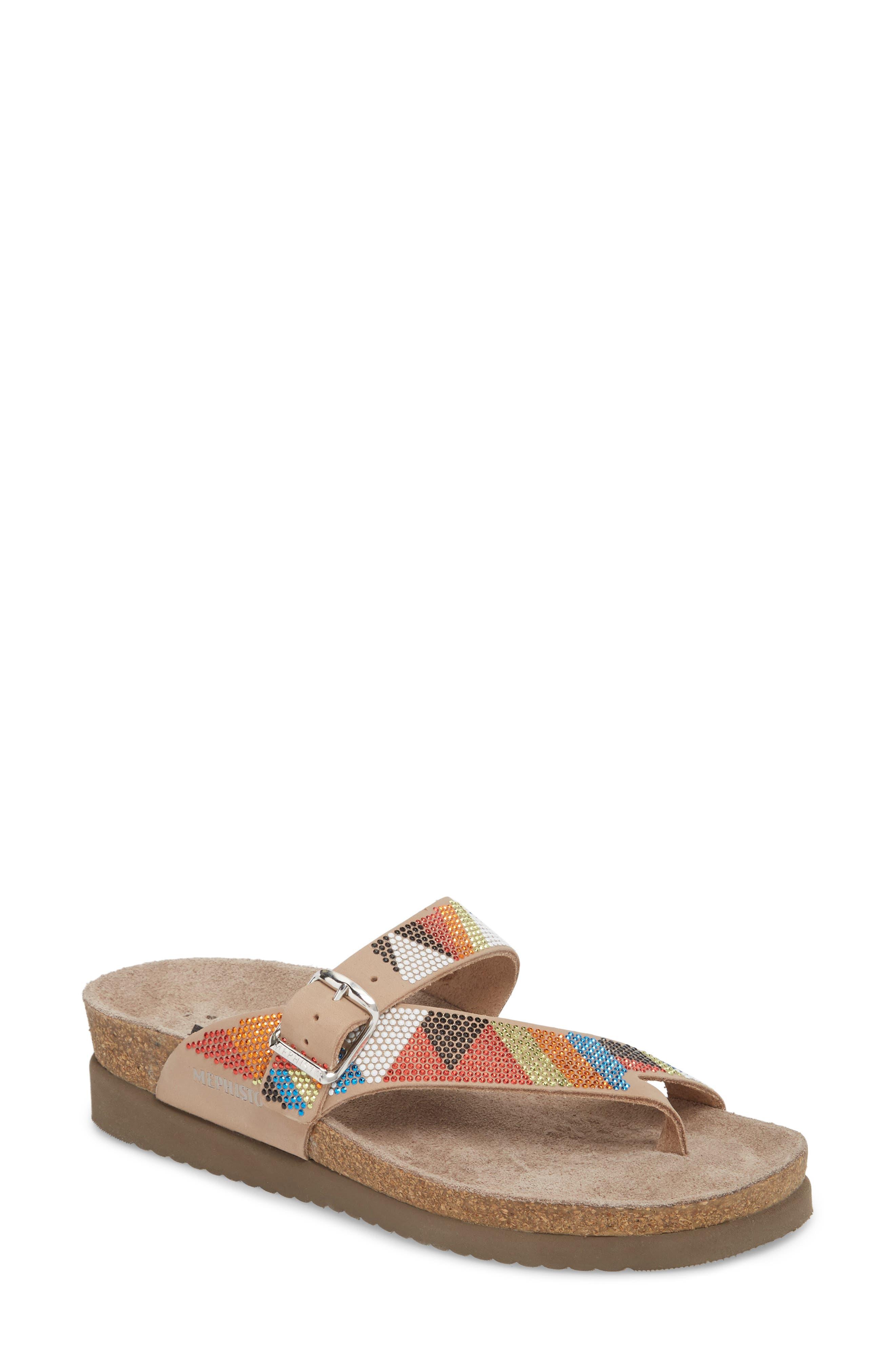 Helen Slide Sandal,                         Main,                         color,