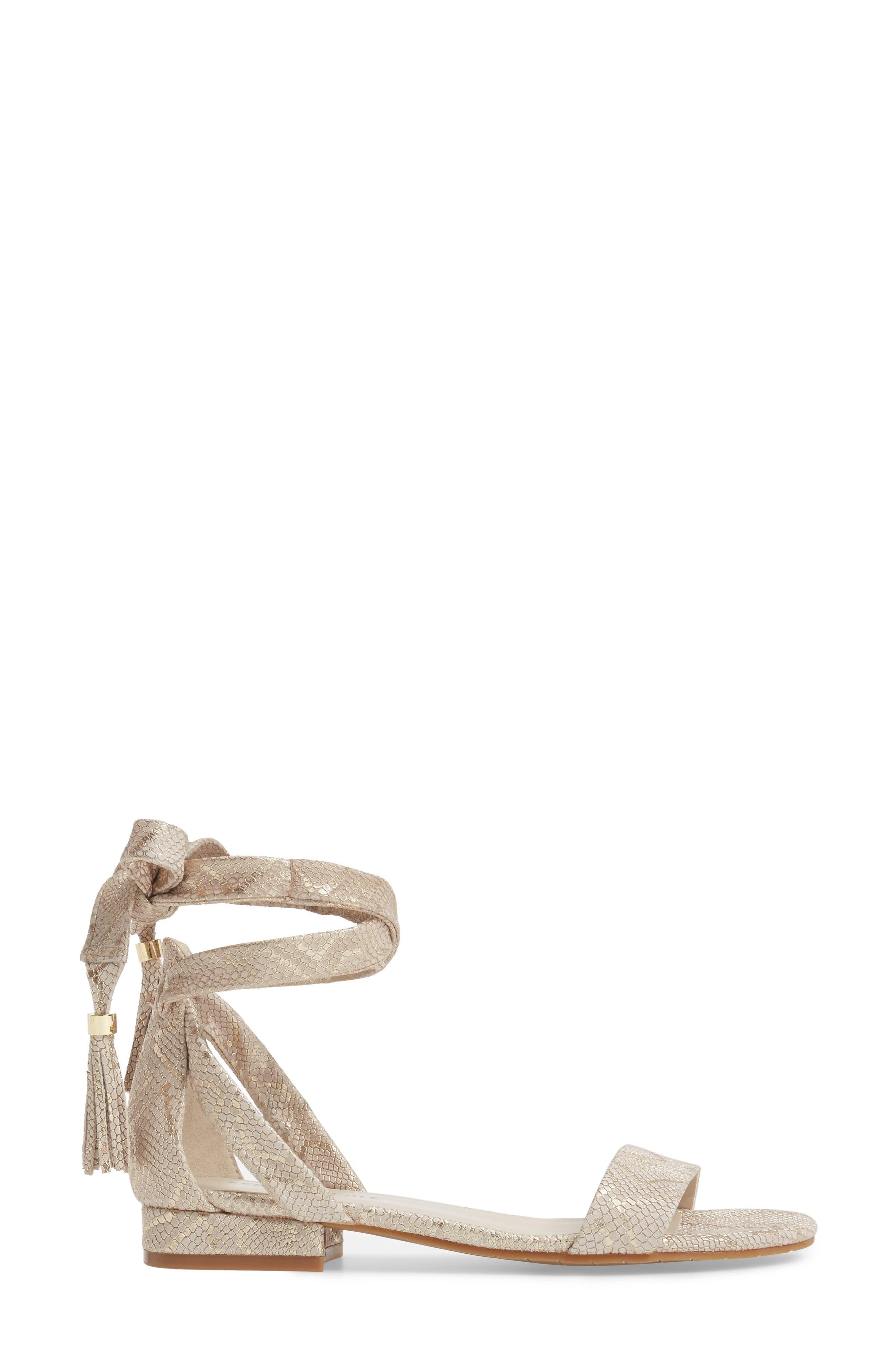Valen Tassel Lace-Up Sandal,                             Alternate thumbnail 32, color,
