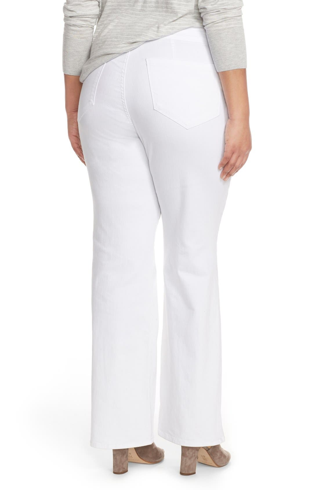 'Isabella' Stretch Trouser Jeans,                             Alternate thumbnail 8, color,