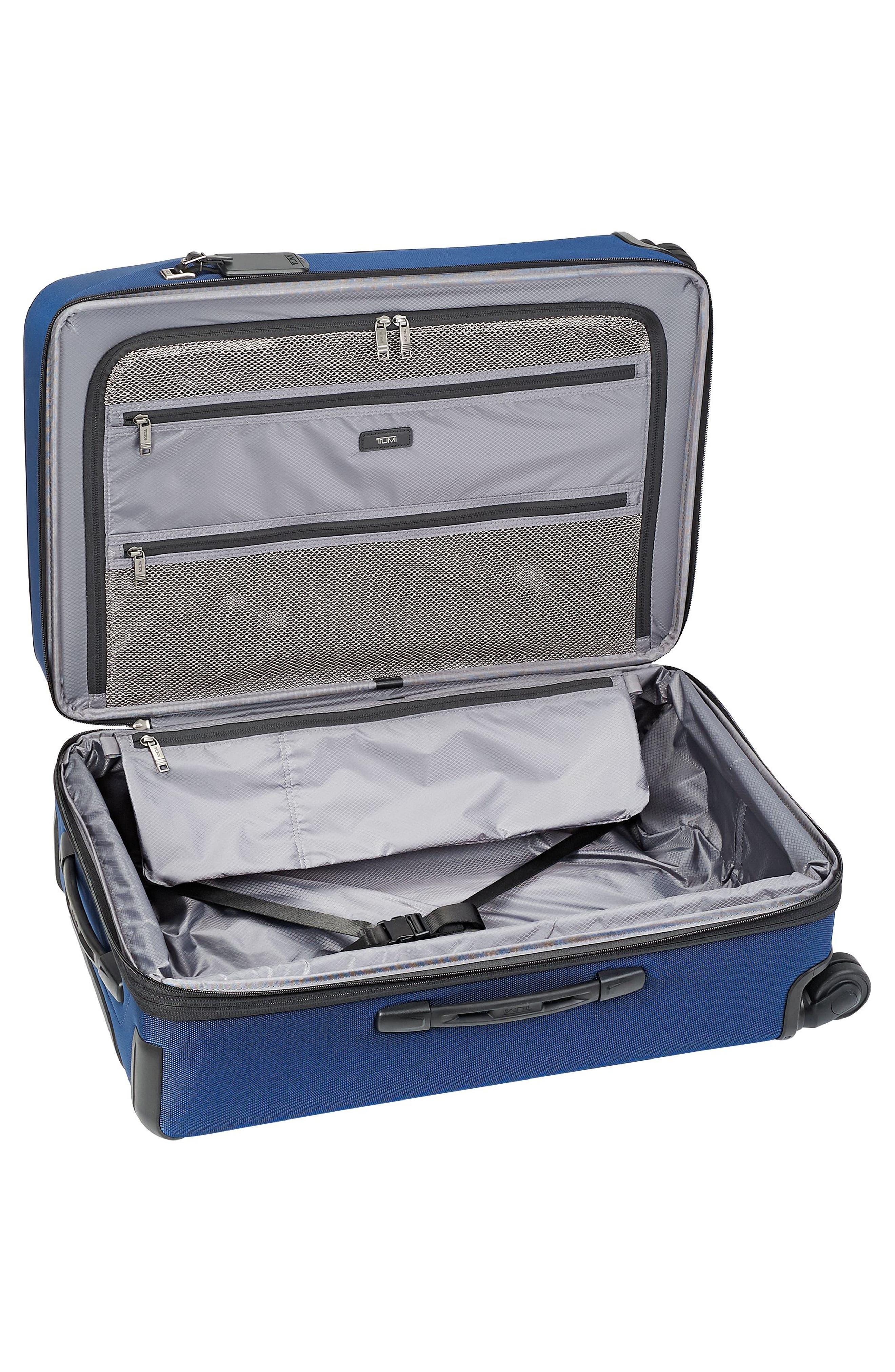 Merge - Short Trip Expandable Rolling Suitcase,                             Alternate thumbnail 2, color,                             OCEAN BLUE