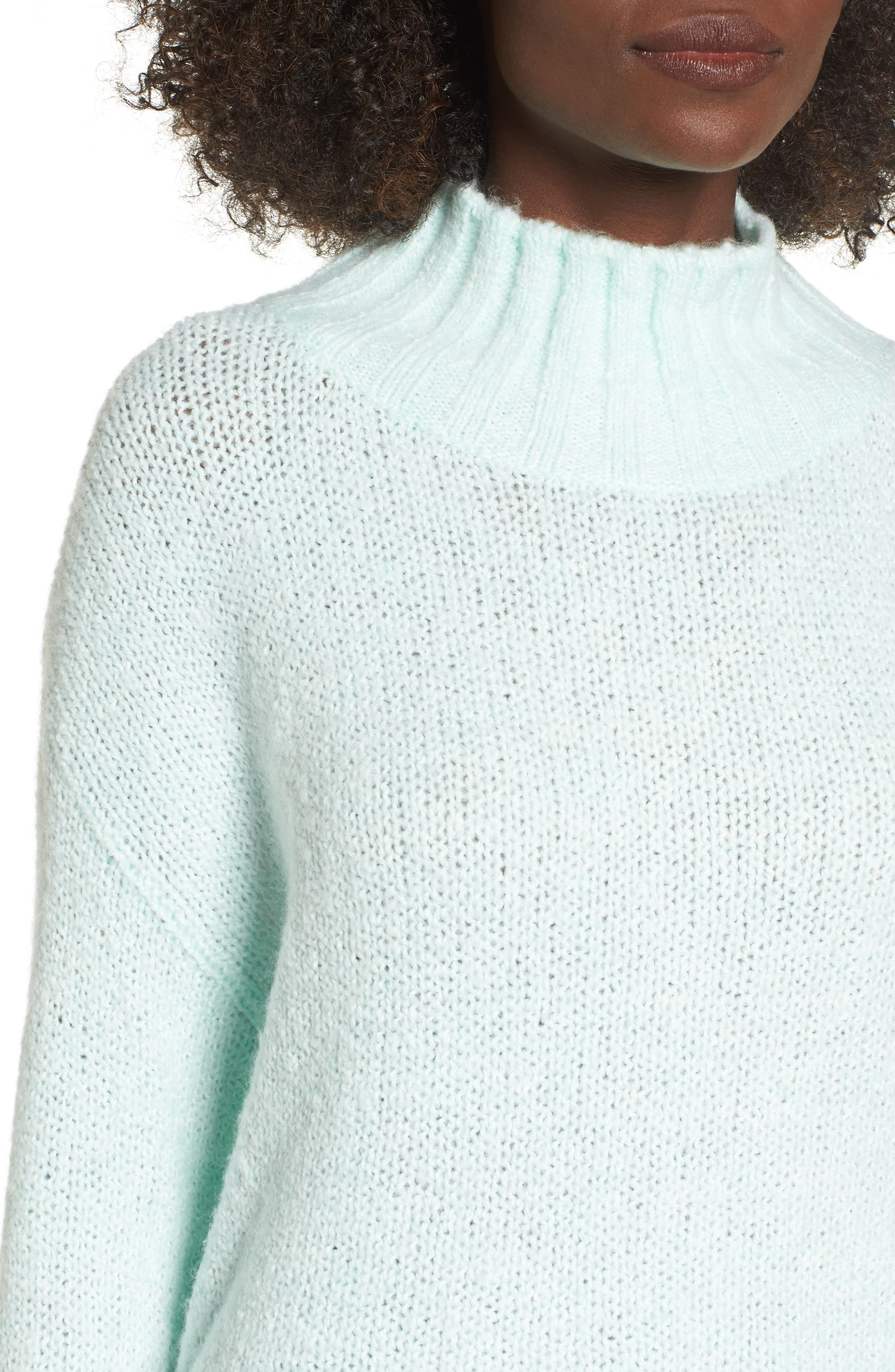 Cozy Mock Neck Sweater,                             Alternate thumbnail 4, color,                             330