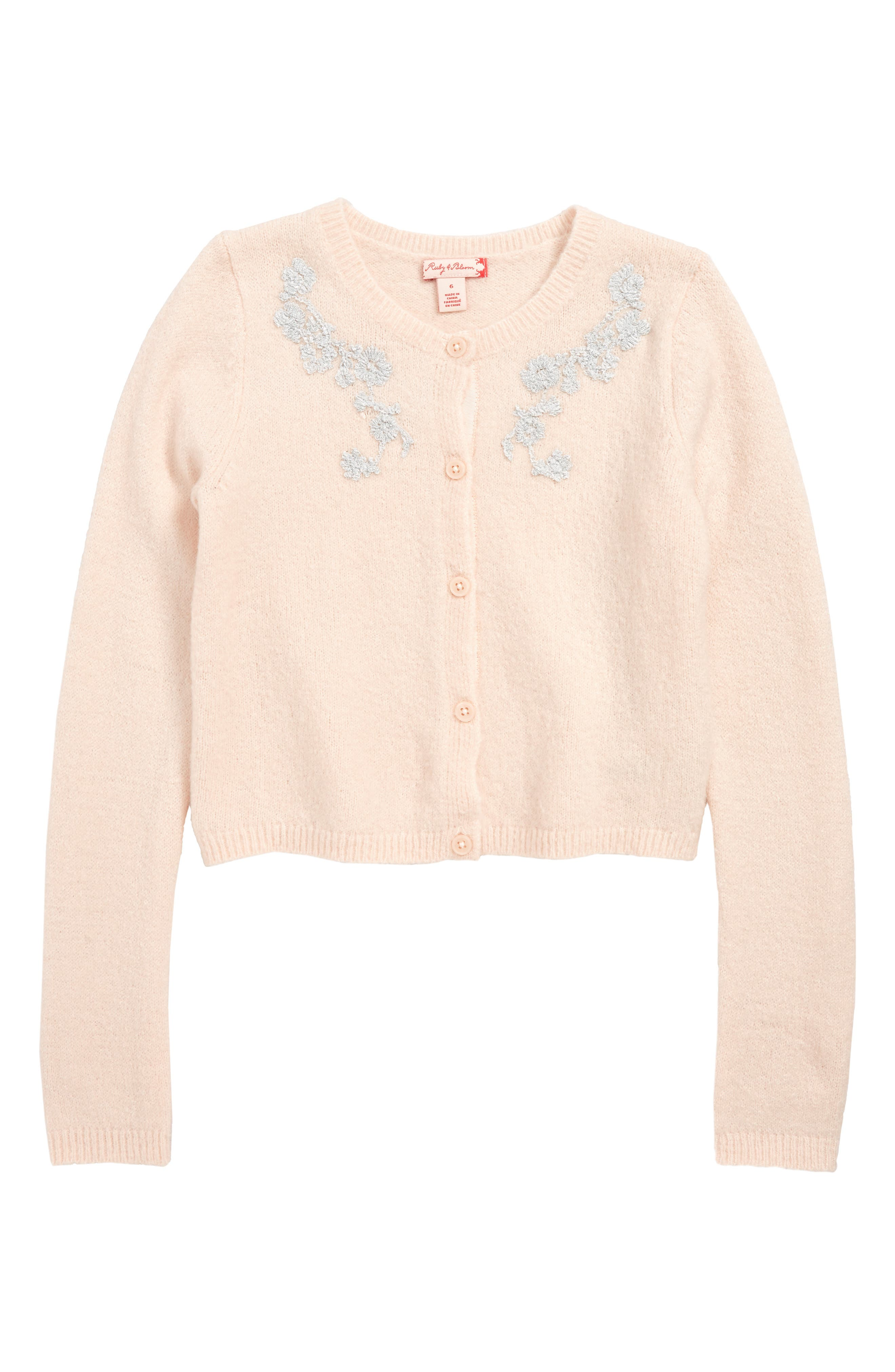 Girls Ruby  Bloom Sparkle Sweater