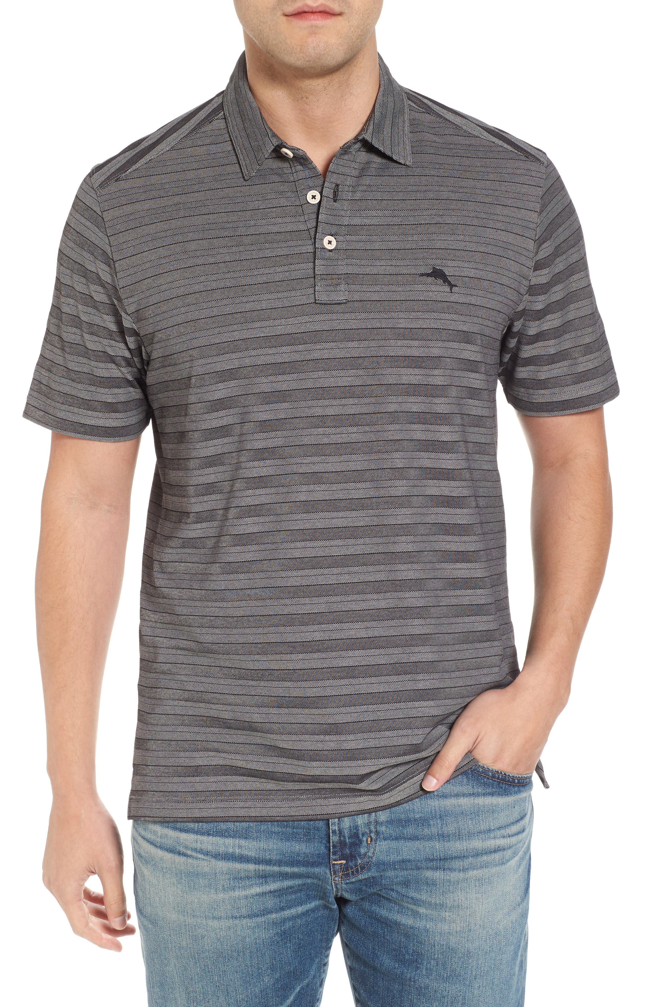 Tropicool Tides Stripe Polo,                         Main,                         color, 001