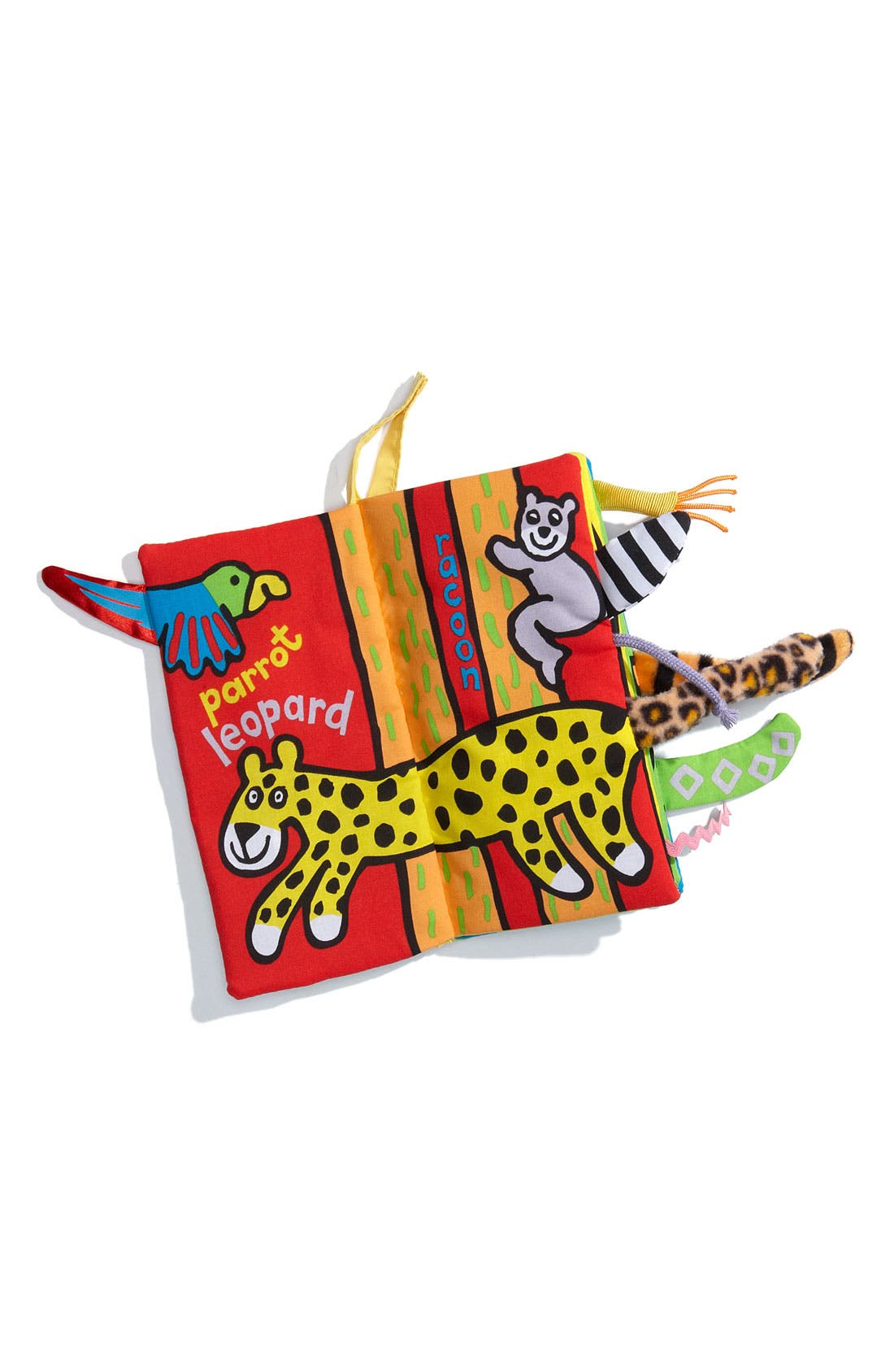 JELLYCAT,                             Jungly Tails Cloth Book,                             Alternate thumbnail 4, color,                             MULTI