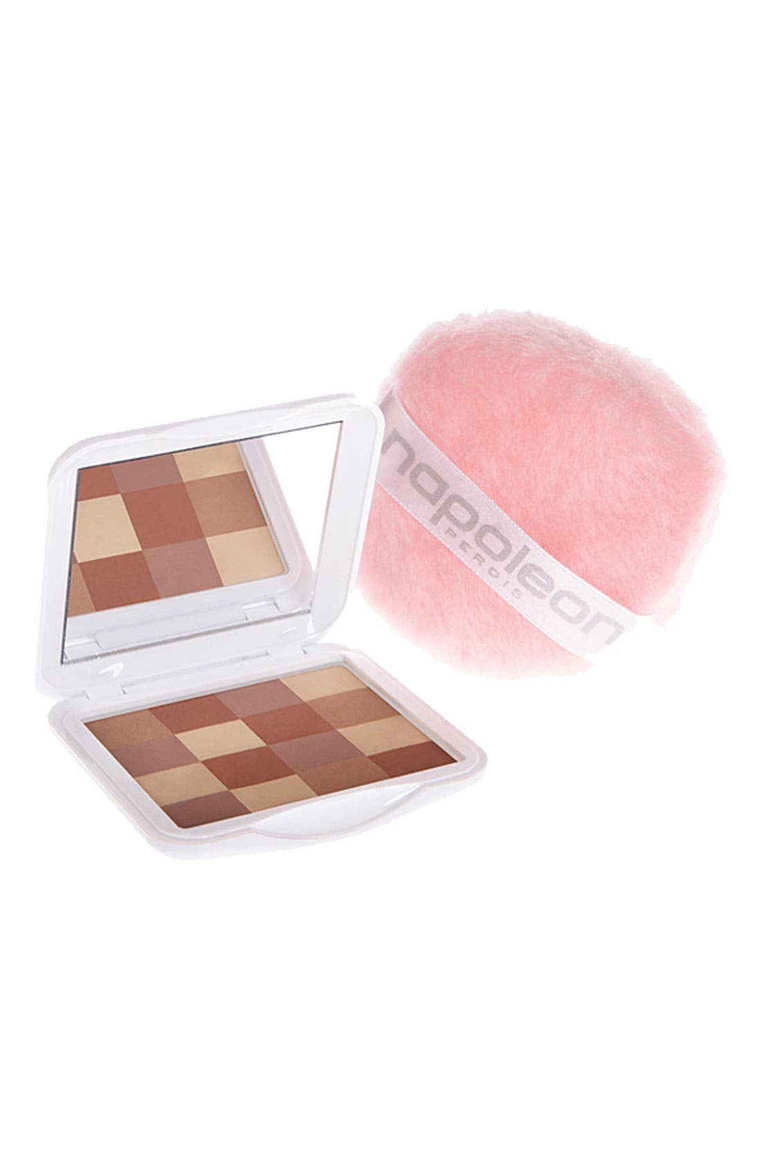 'Mosaic' Bronzing Powder with Puff, Main, color, 220