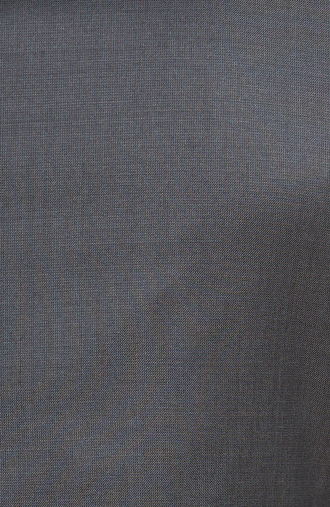 Extra Trim Fit Solid Wool Suit,                             Alternate thumbnail 7, color,                             021