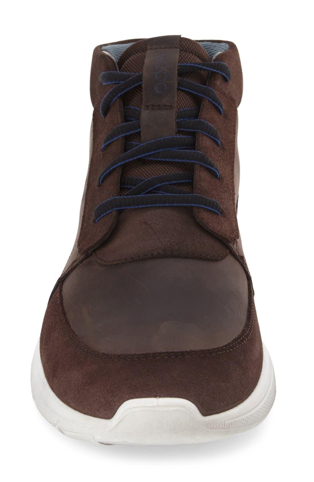 'Irondale Retro' High Top Sneaker,                             Alternate thumbnail 3, color,                             206