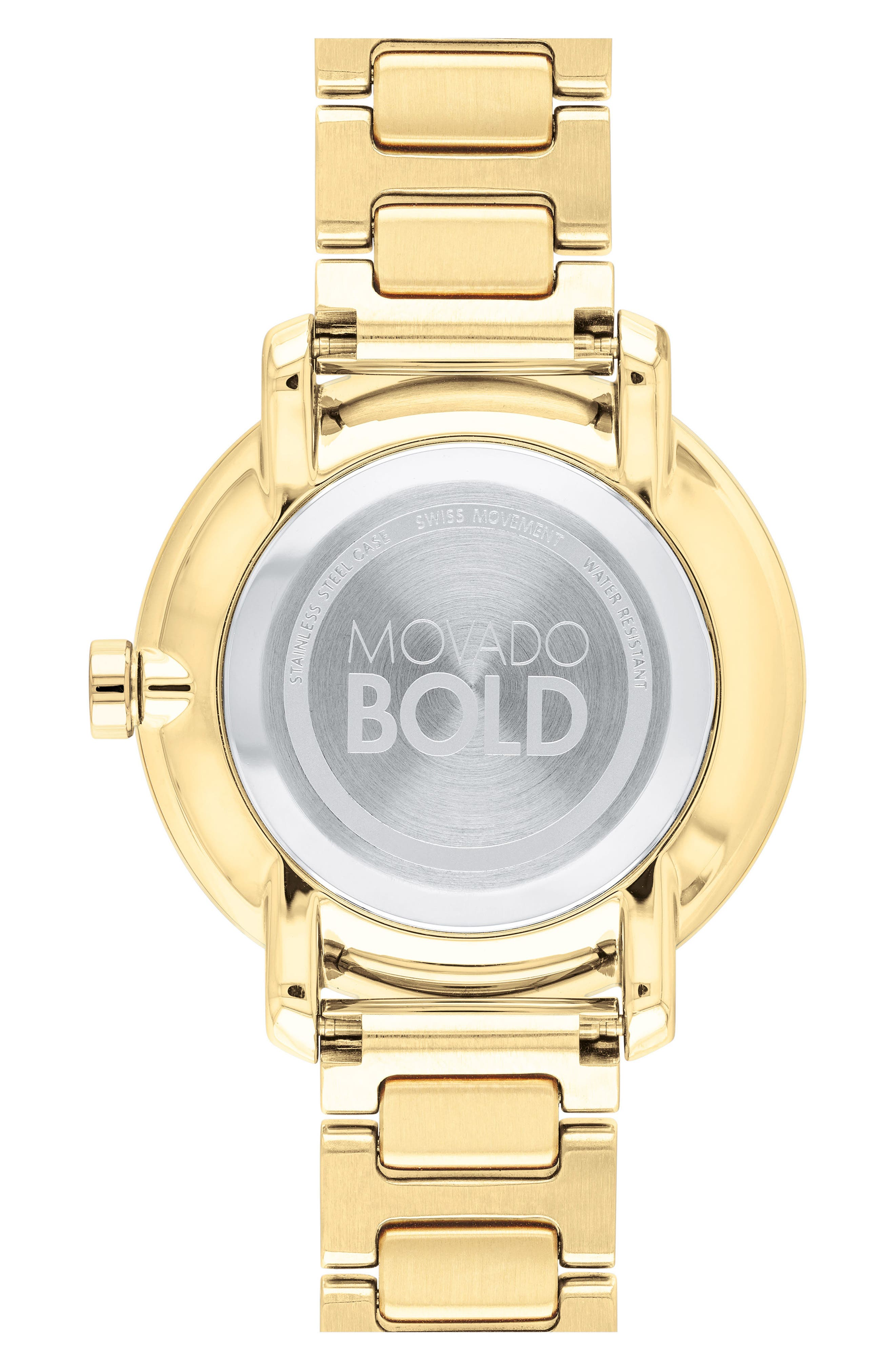 MOVADO,                             Bold Bracelet Watch, 34mm,                             Alternate thumbnail 2, color,                             GOLD