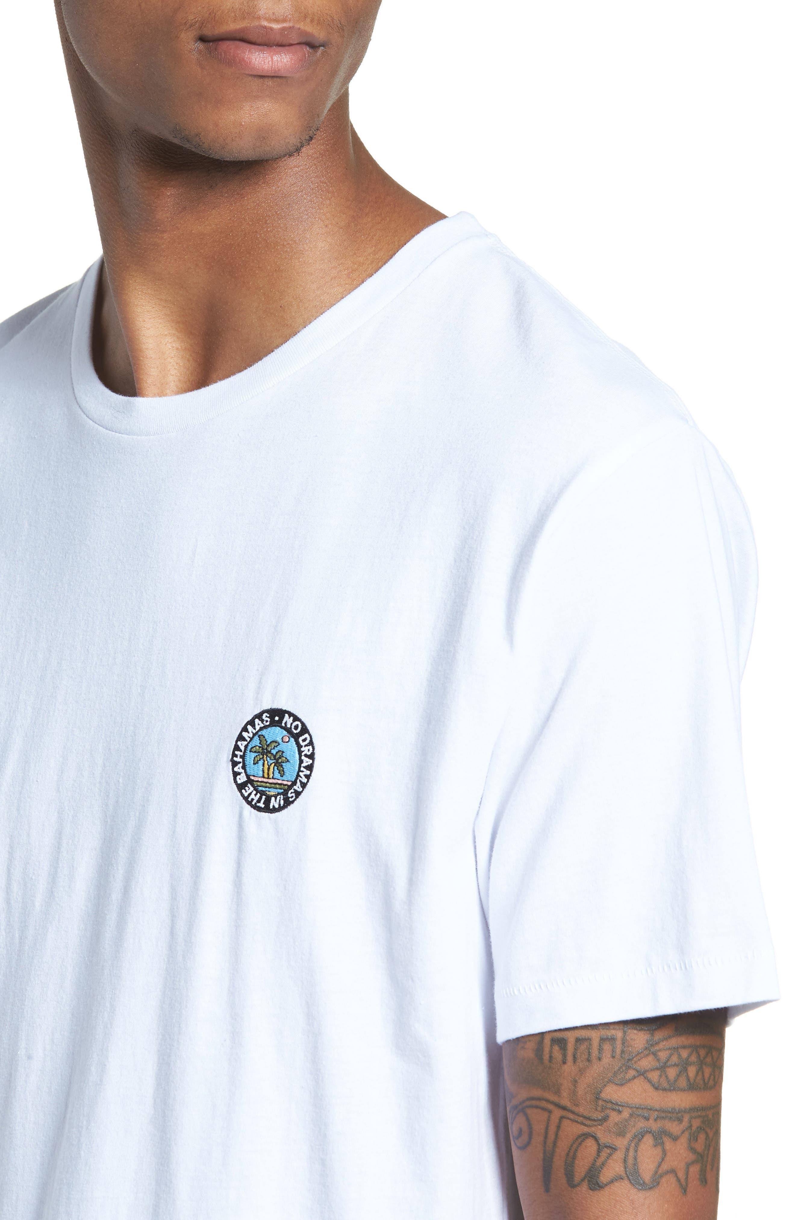 Emo Badge T-Shirt,                             Alternate thumbnail 4, color,                             100