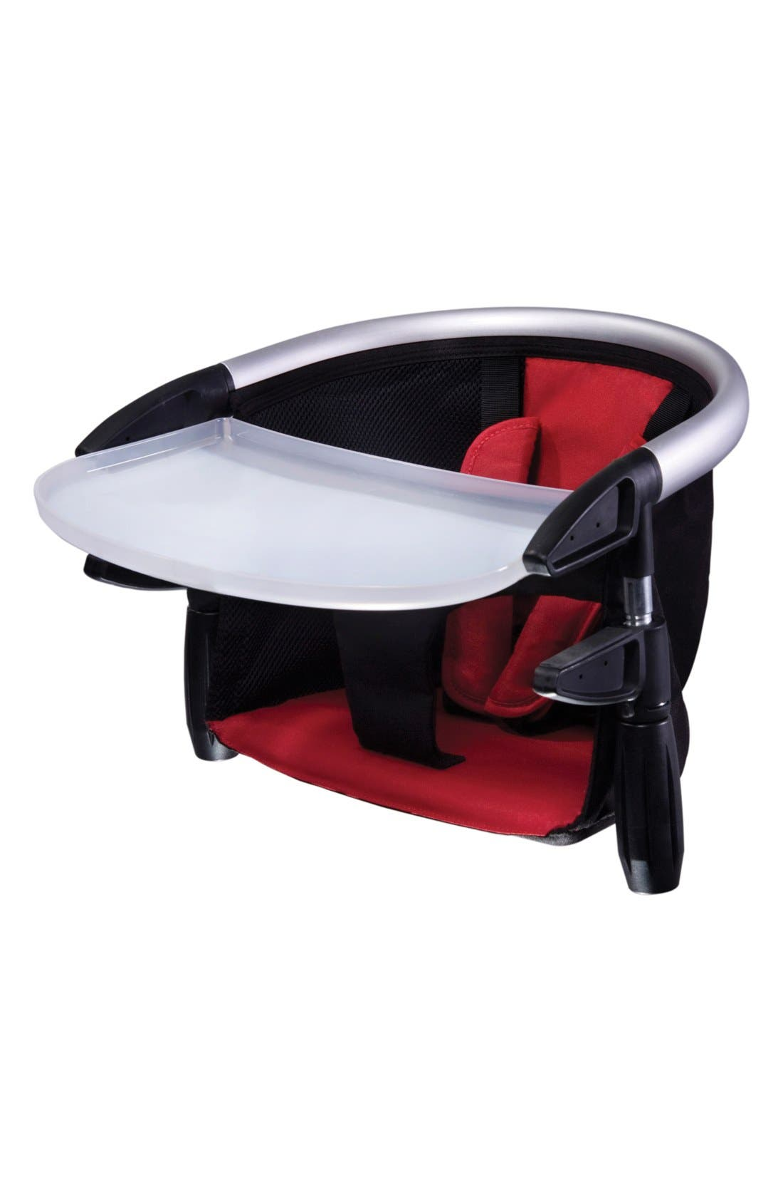'Lobster<sup>™</sup>' Portable Clip-On Highchair,                             Main thumbnail 1, color,                             RED