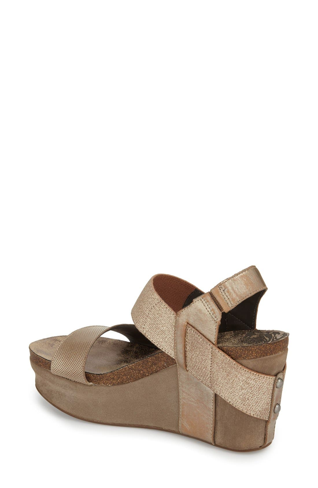 'Bushnell' Wedge Sandal,                             Alternate thumbnail 15, color,