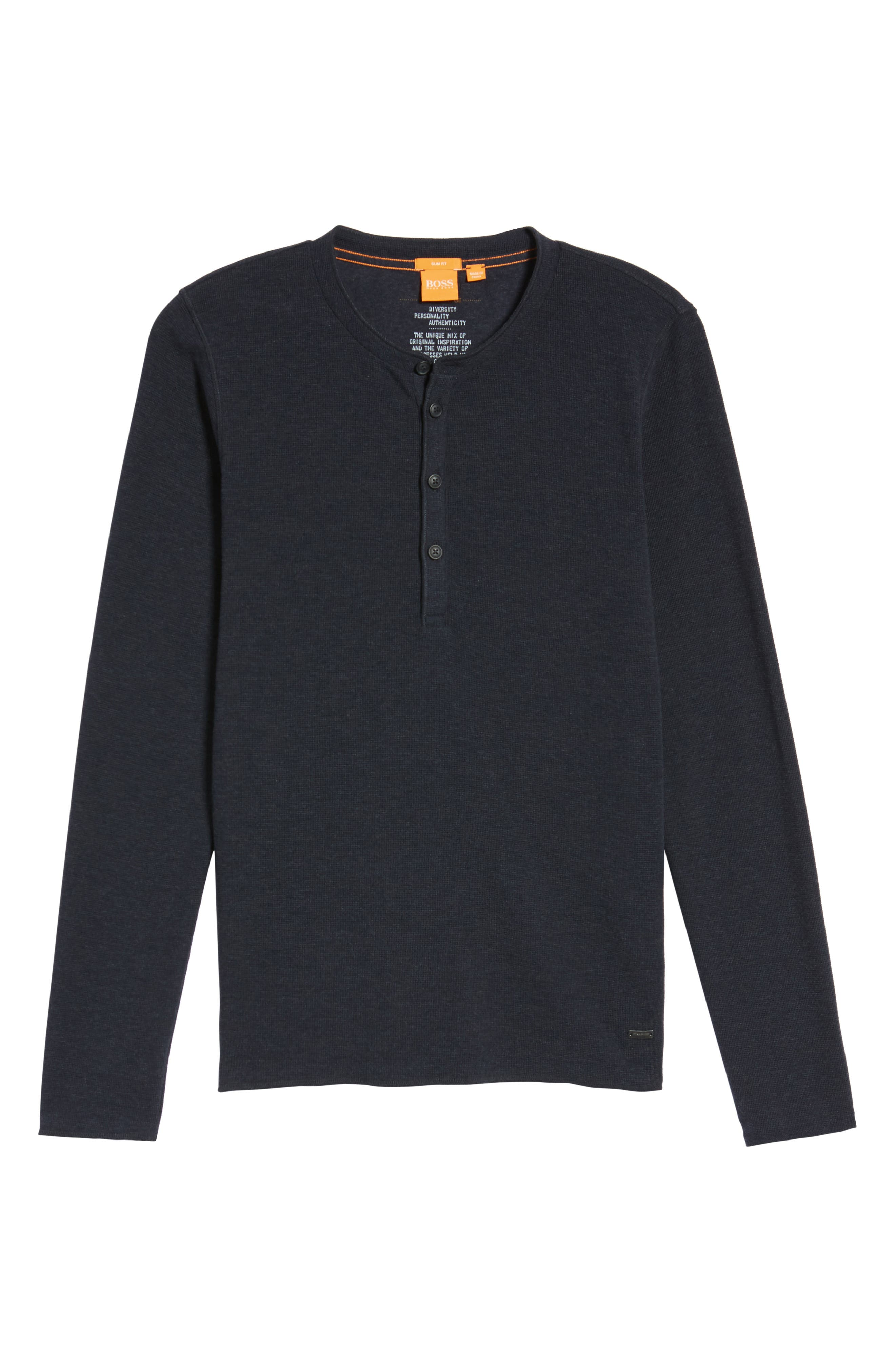 Topsider Thermal Henley,                             Alternate thumbnail 23, color,