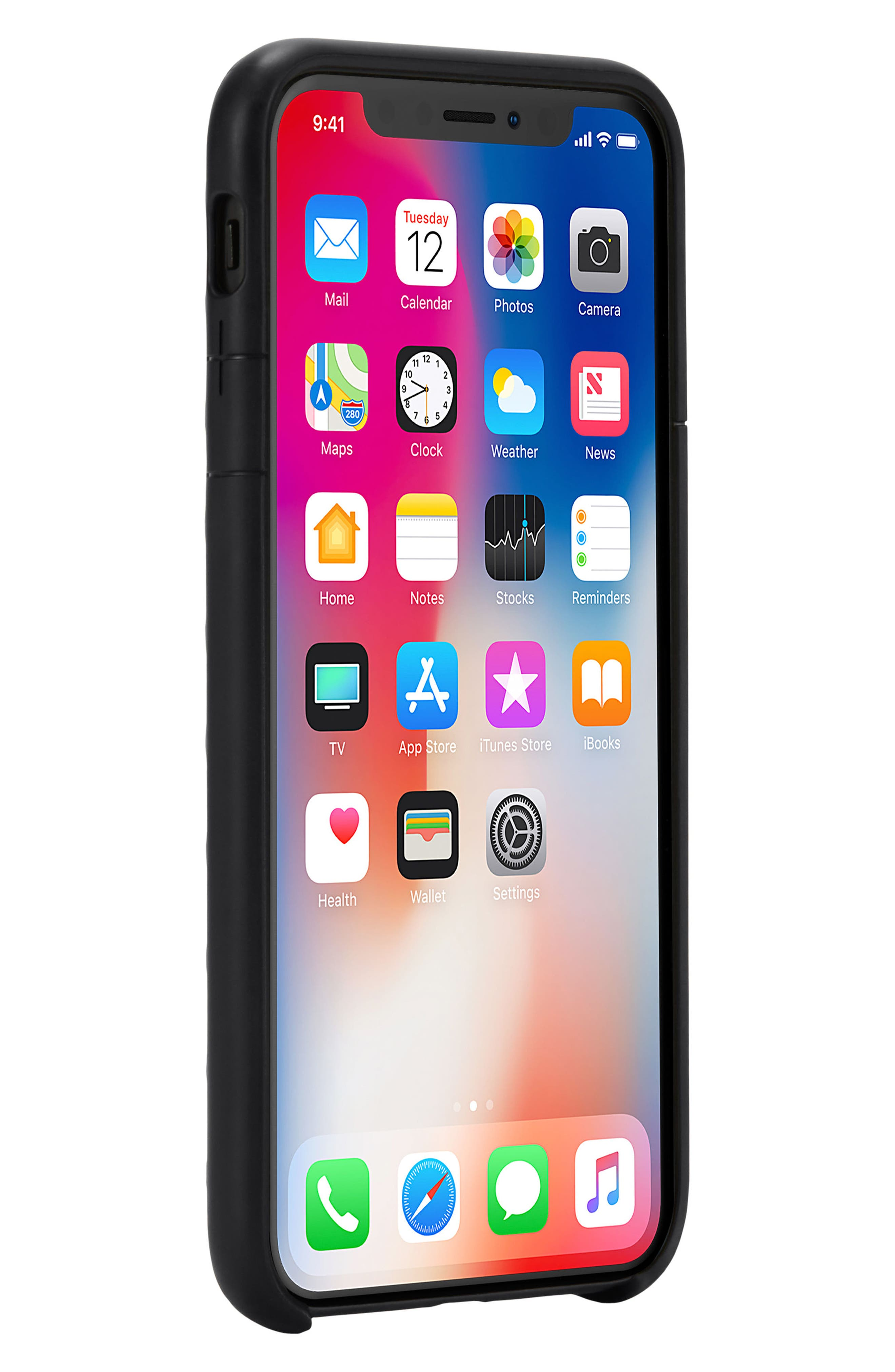 Lite iPhone iPhone X & Xs Case,                             Alternate thumbnail 7, color,
