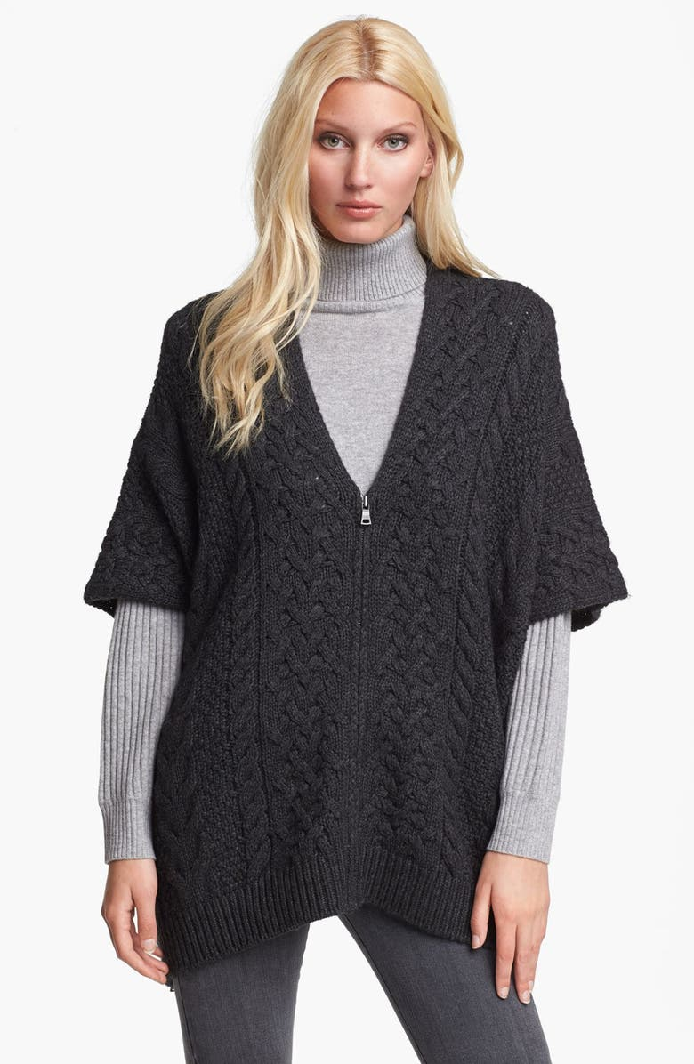 Vince Cable Knit Poncho Sweater Nordstrom