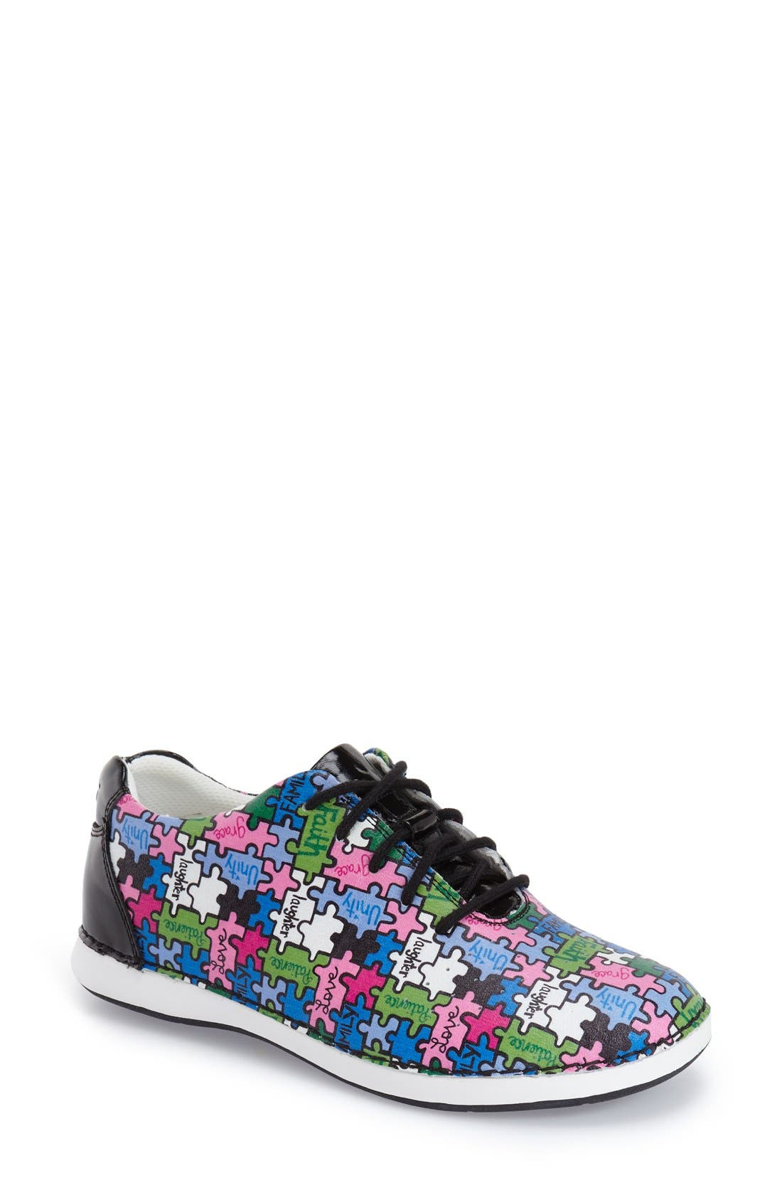 Essence Lace-Up Leather Oxford,                             Main thumbnail 25, color,