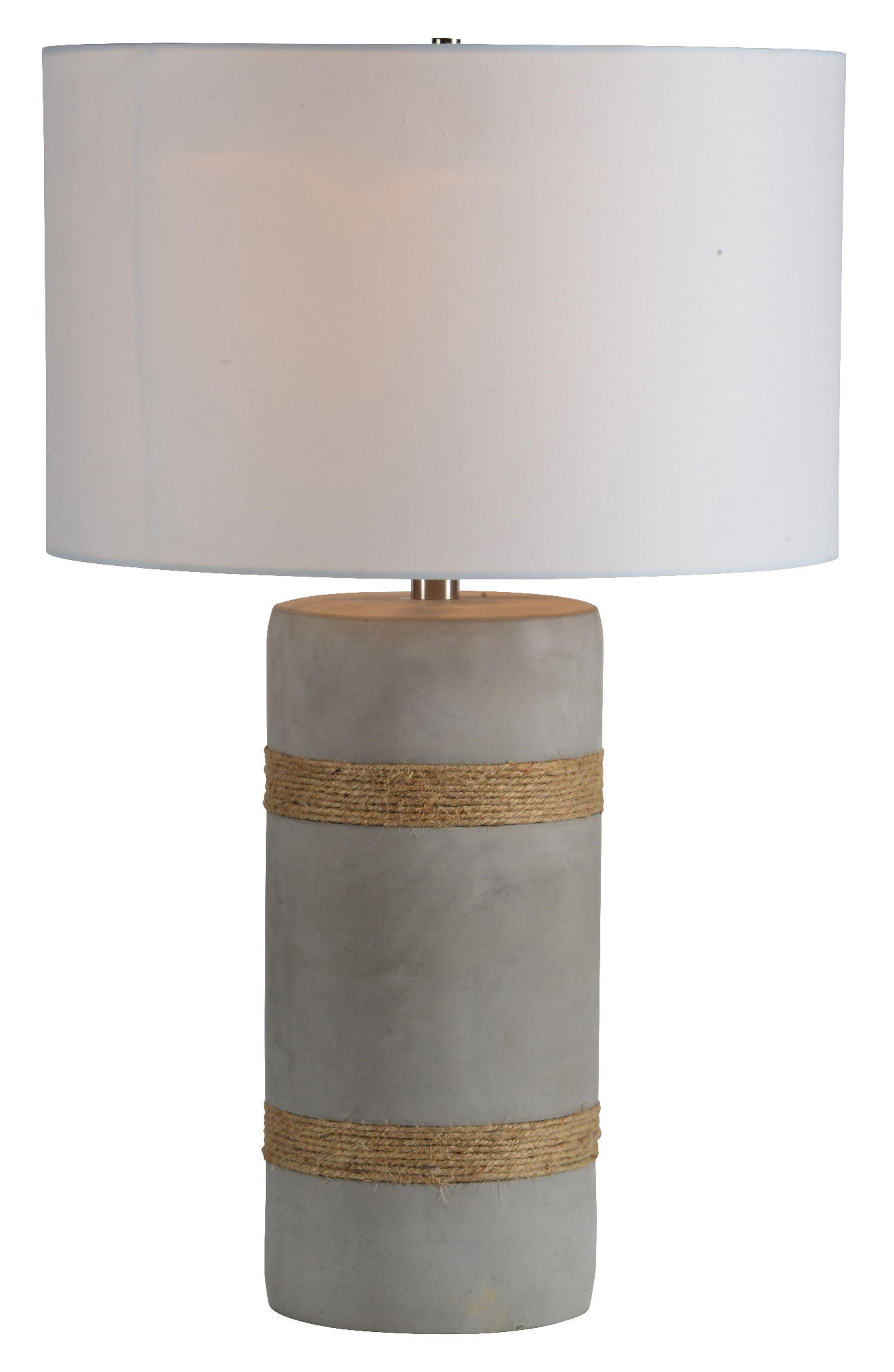Malden Table Lamp,                             Main thumbnail 1, color,                             ROPE DETAIL