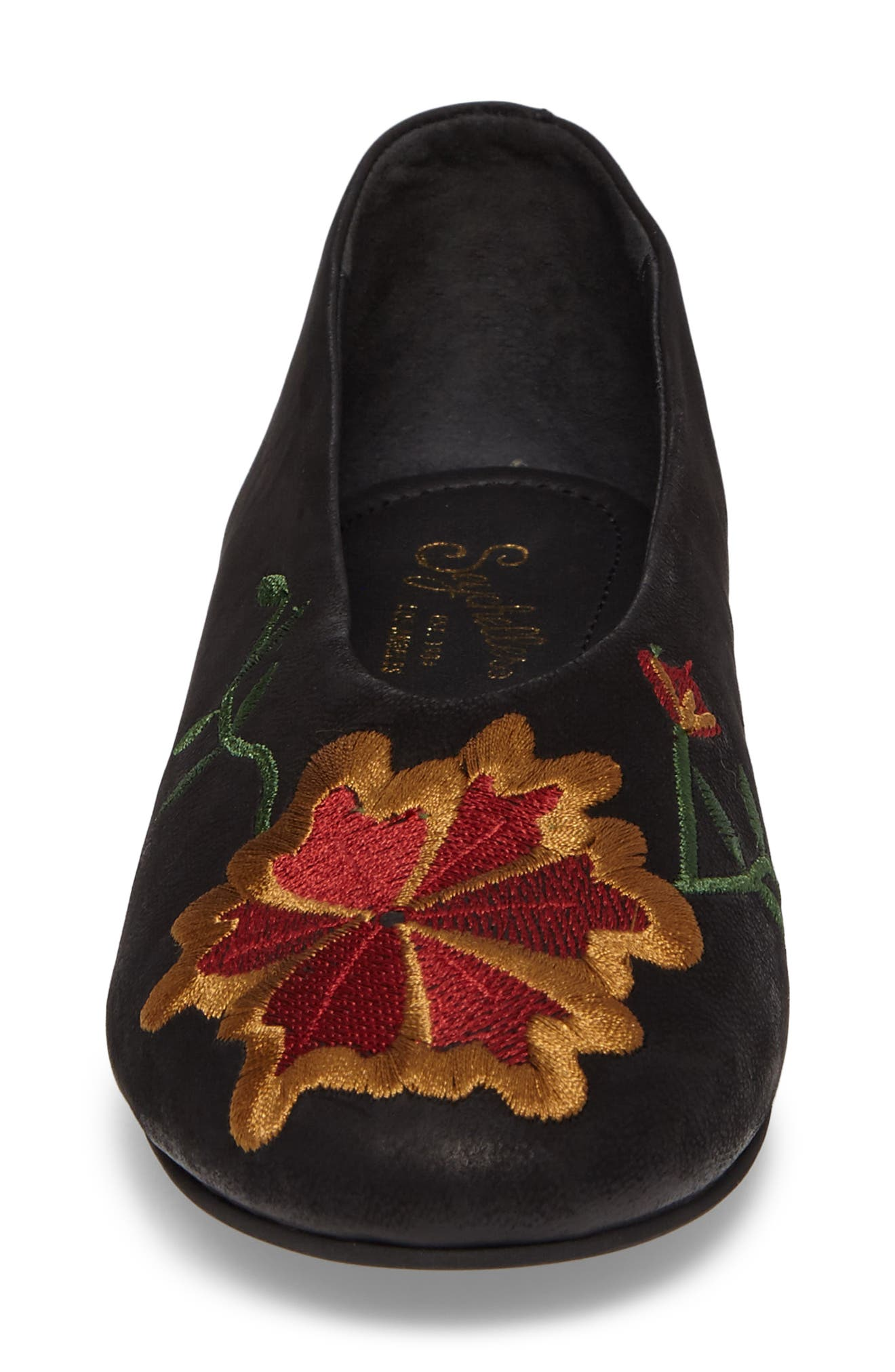 Campfire Embroidered Flat,                             Alternate thumbnail 4, color,                             001