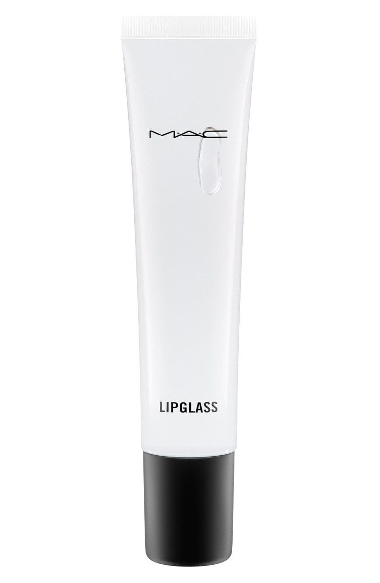 MAC Clear Lipglass,                         Main,                         color, CLEAR
