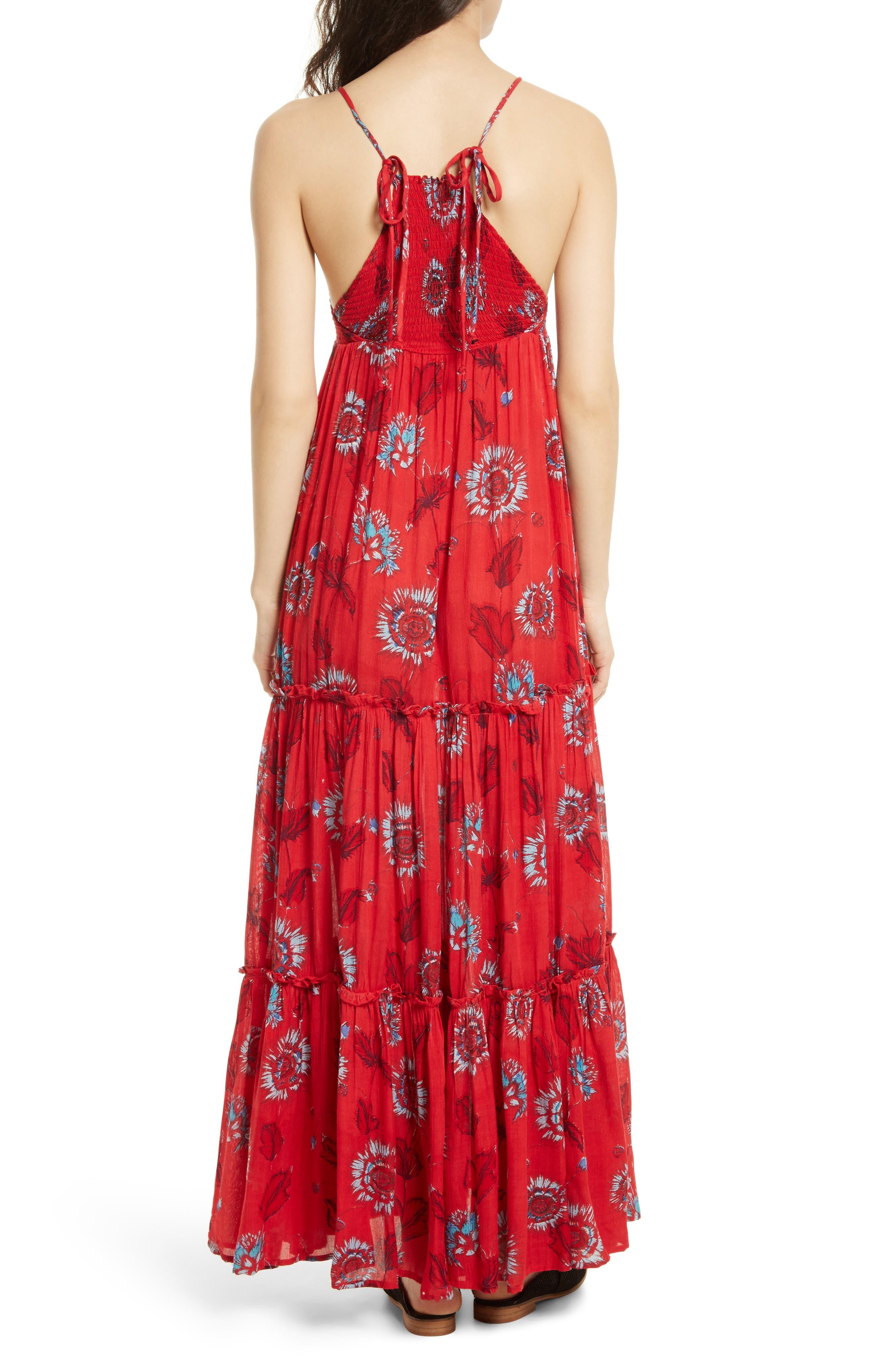 Garden Party Maxi Dress,                             Alternate thumbnail 14, color,