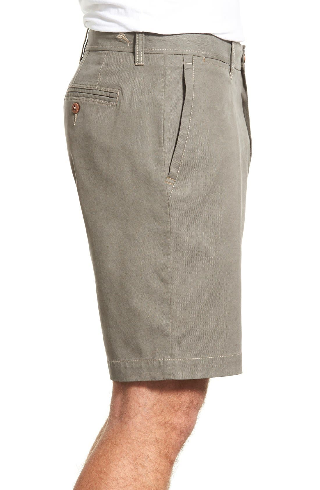 'Offshore' Flat Front Shorts,                             Alternate thumbnail 25, color,