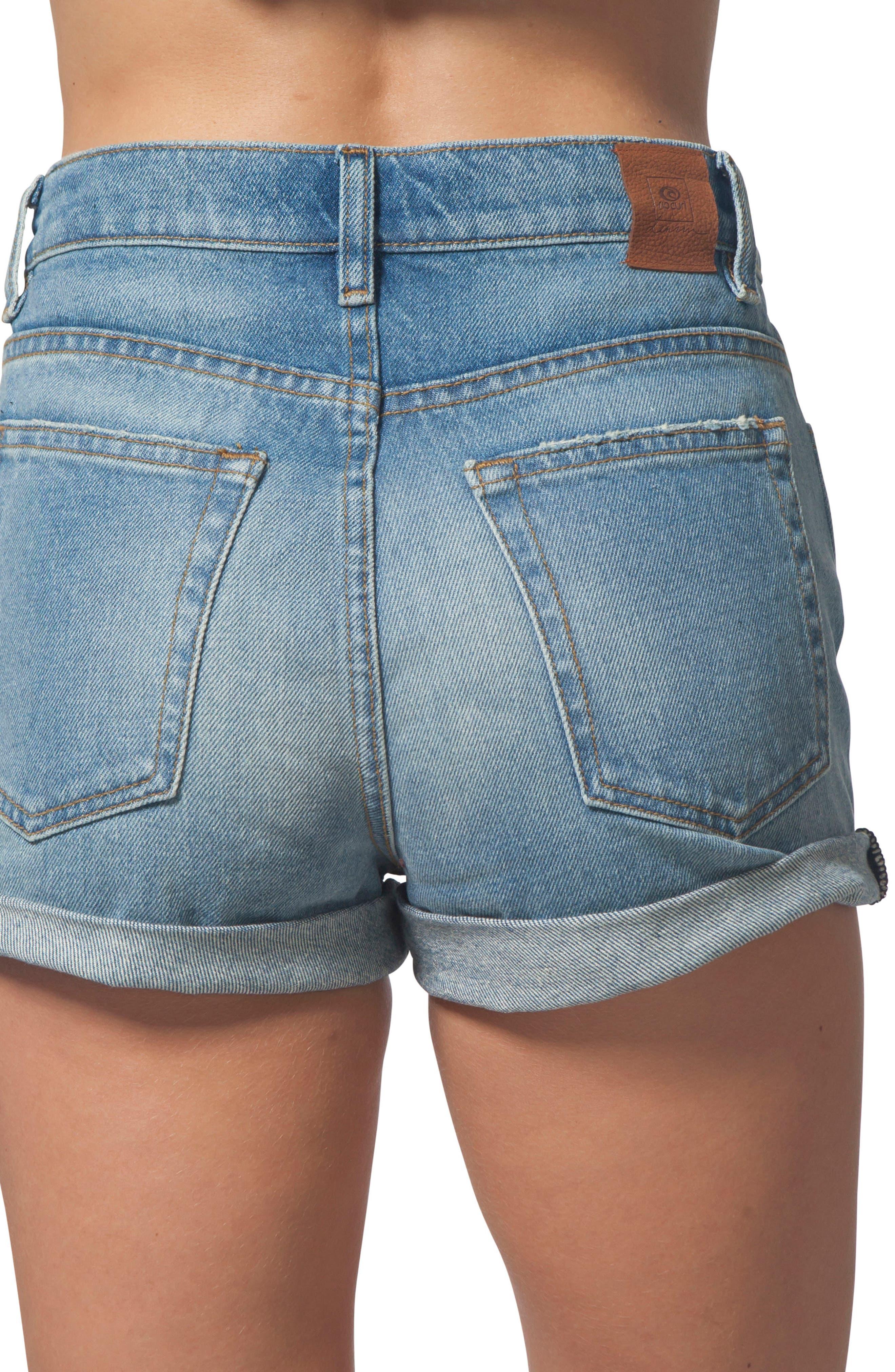 River Denim Shorts,                             Alternate thumbnail 2, color,                             400
