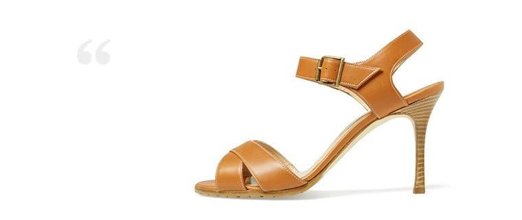 Designer clothing, shoes and handbags.