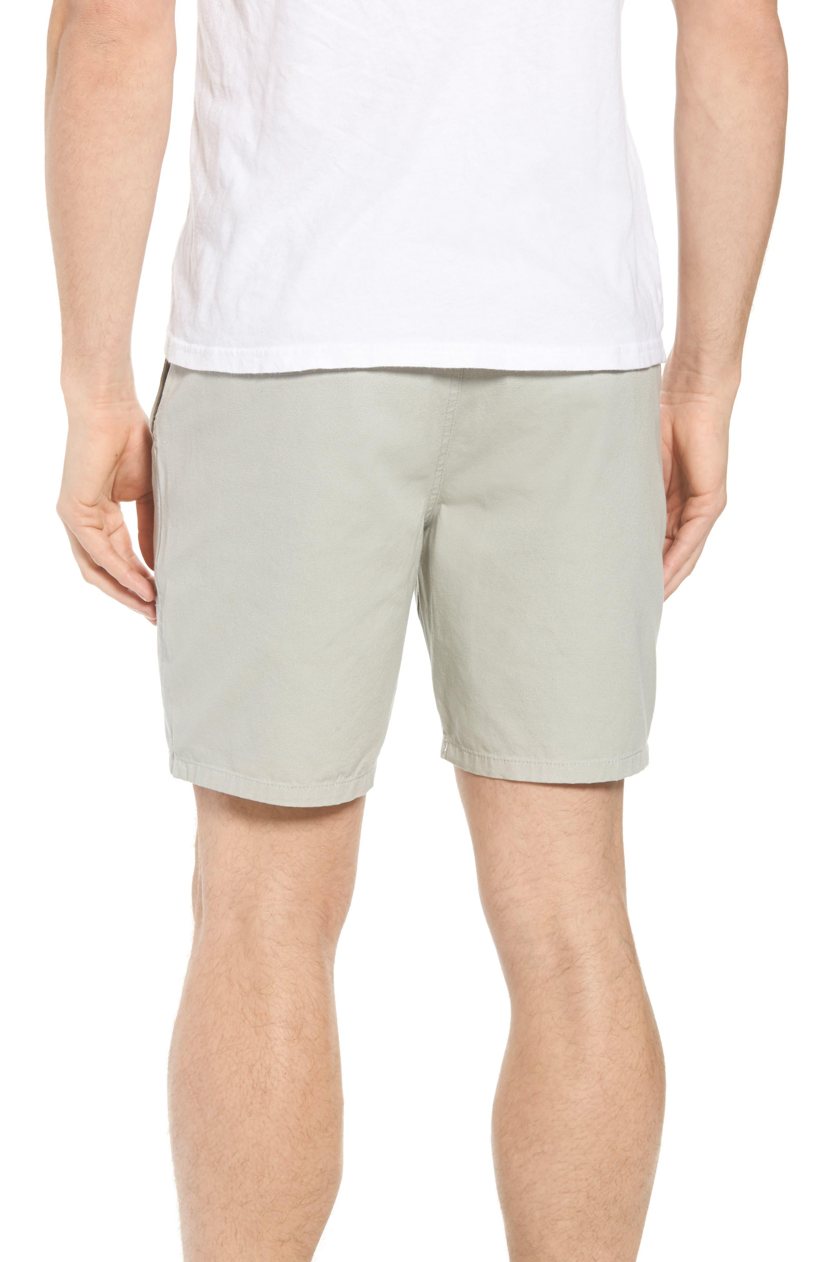 Collins Canvas Shorts,                             Alternate thumbnail 3, color,