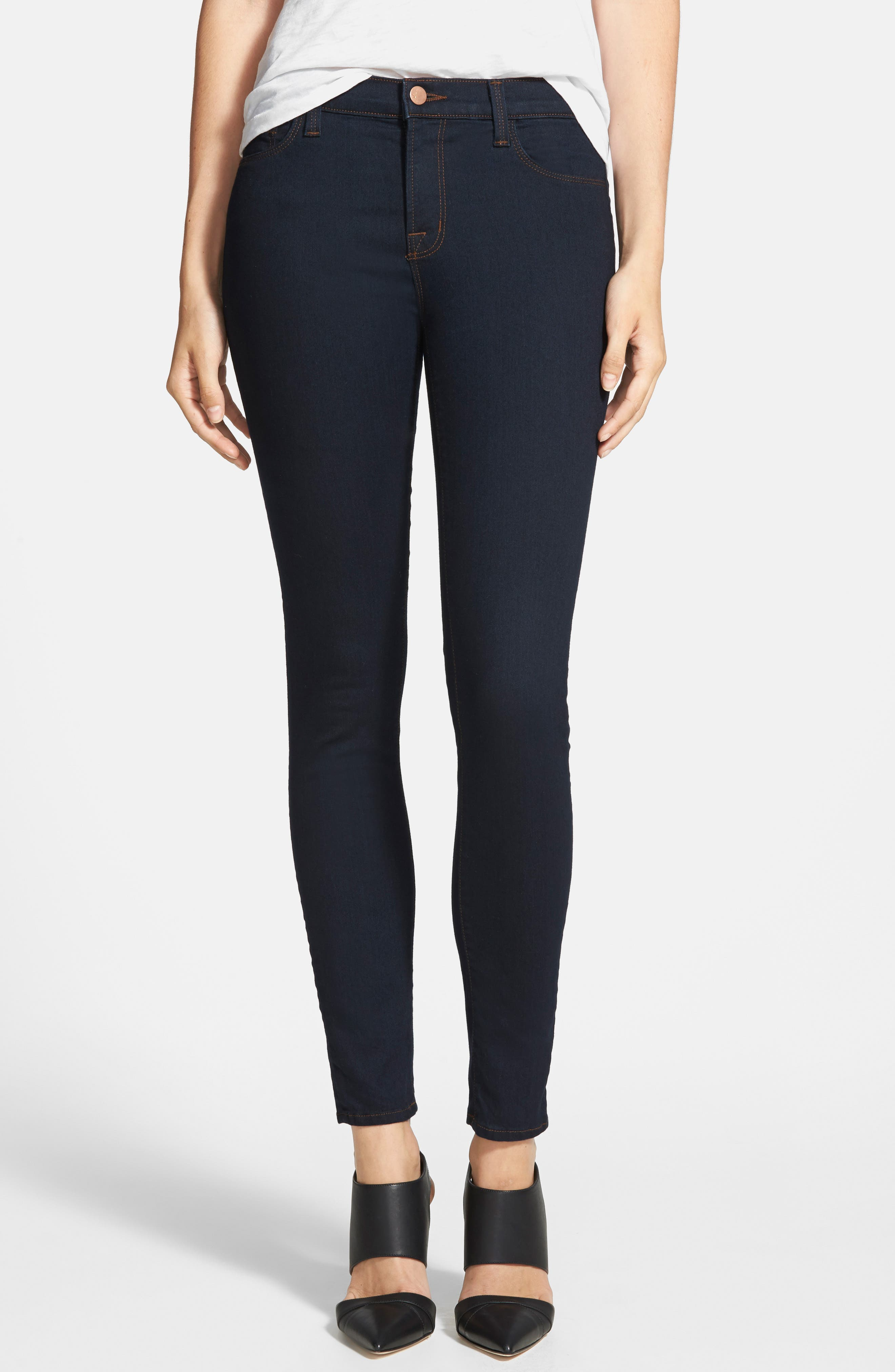 '811' Ankle Skinny Jeans,                             Alternate thumbnail 2, color,                             460