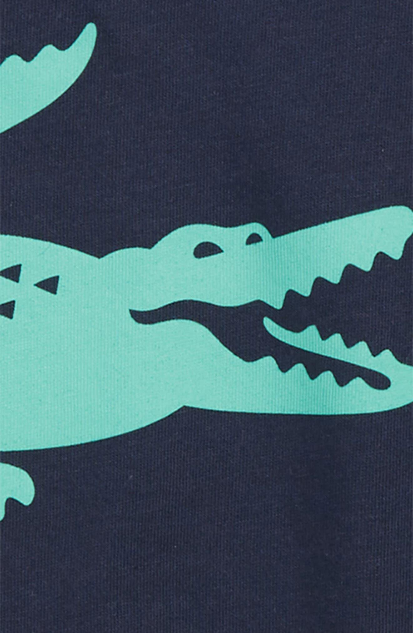 Croc Graphic T-Shirt,                             Alternate thumbnail 2, color,                             NAVY