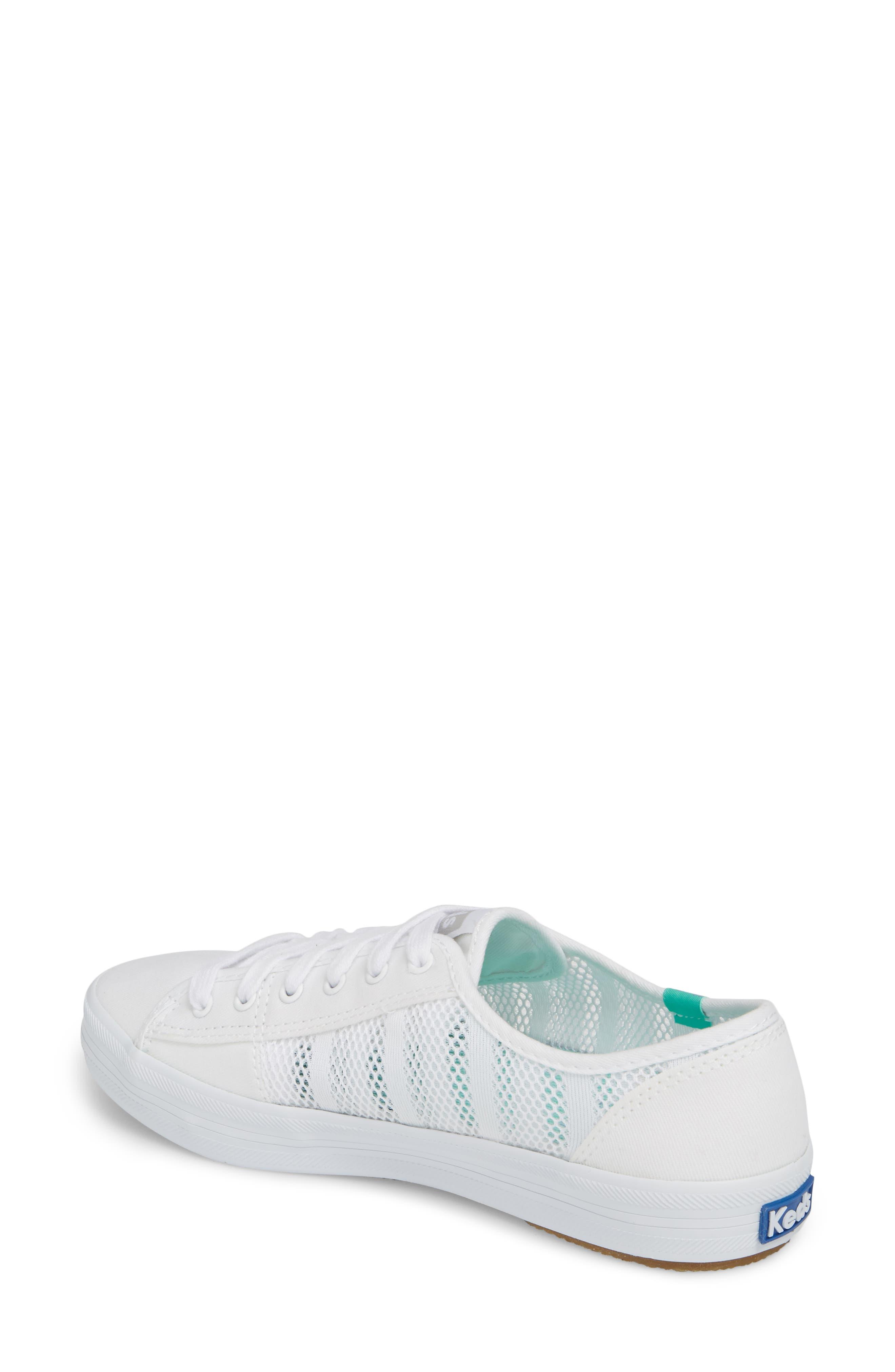 Kickstart Stripe Mesh Sneaker,                             Alternate thumbnail 2, color,                             100