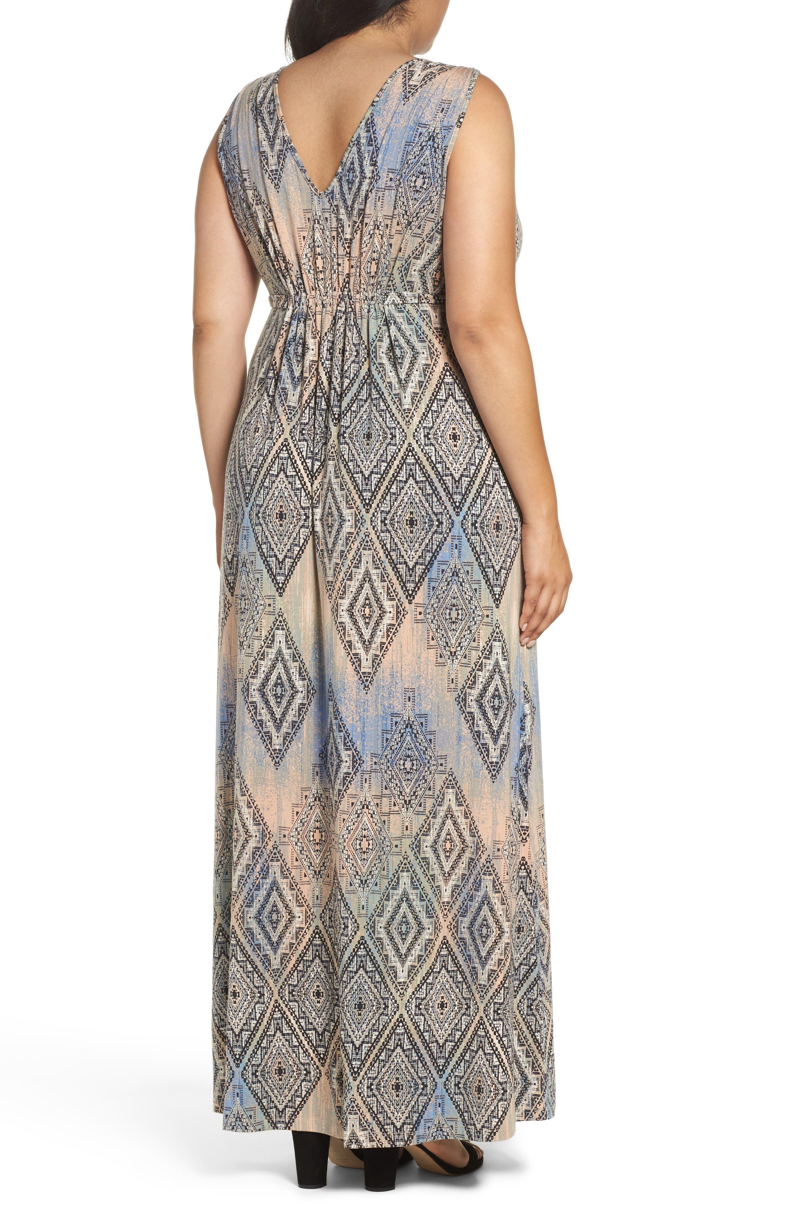 Grecia Sleeveless Jersey Maxi Dress,                             Alternate thumbnail 20, color,