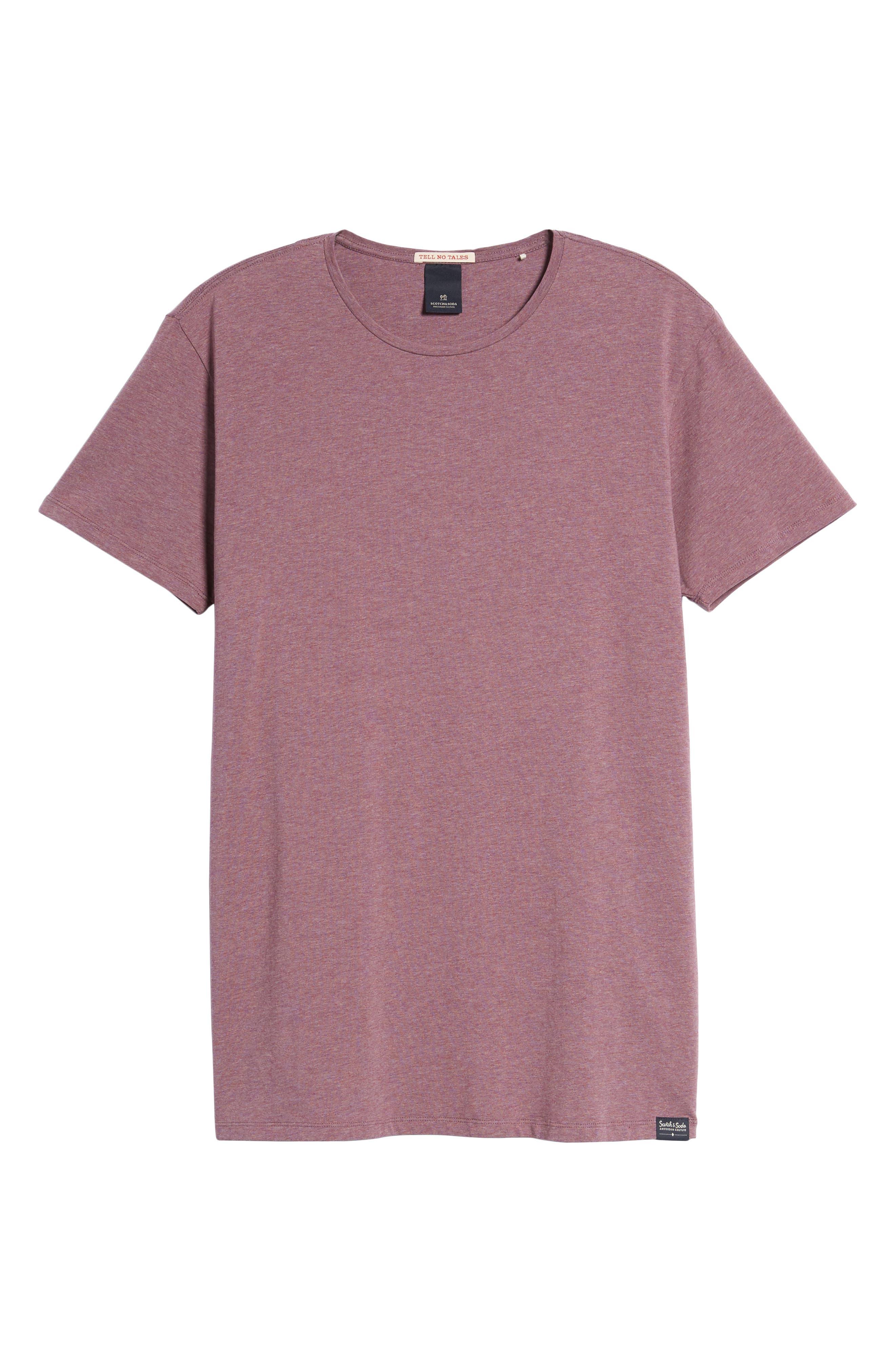 Classic Crewneck T-Shirt,                             Alternate thumbnail 6, color,                             500