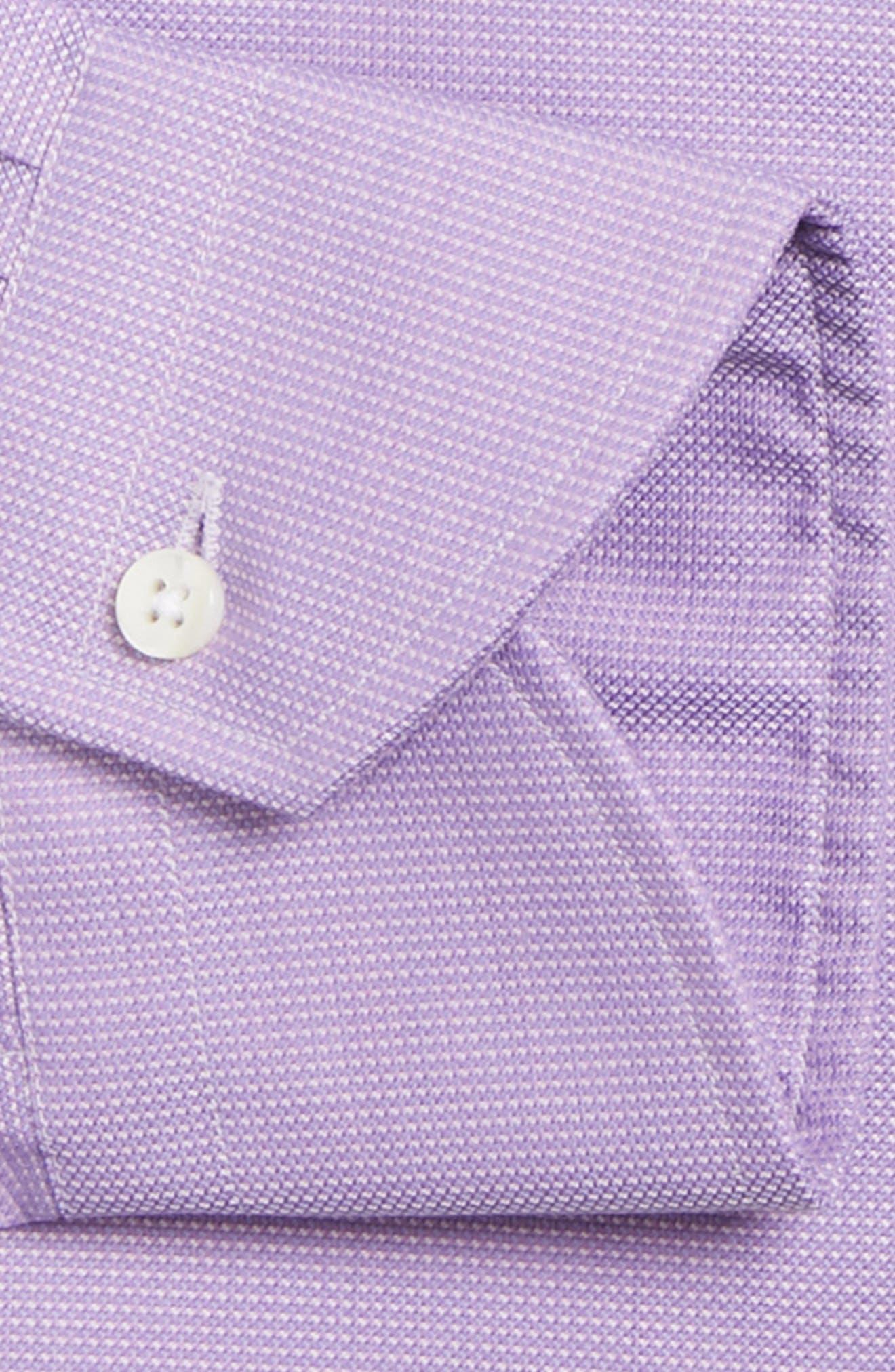 Regular Fit Solid Dress Shirt,                             Alternate thumbnail 6, color,                             520