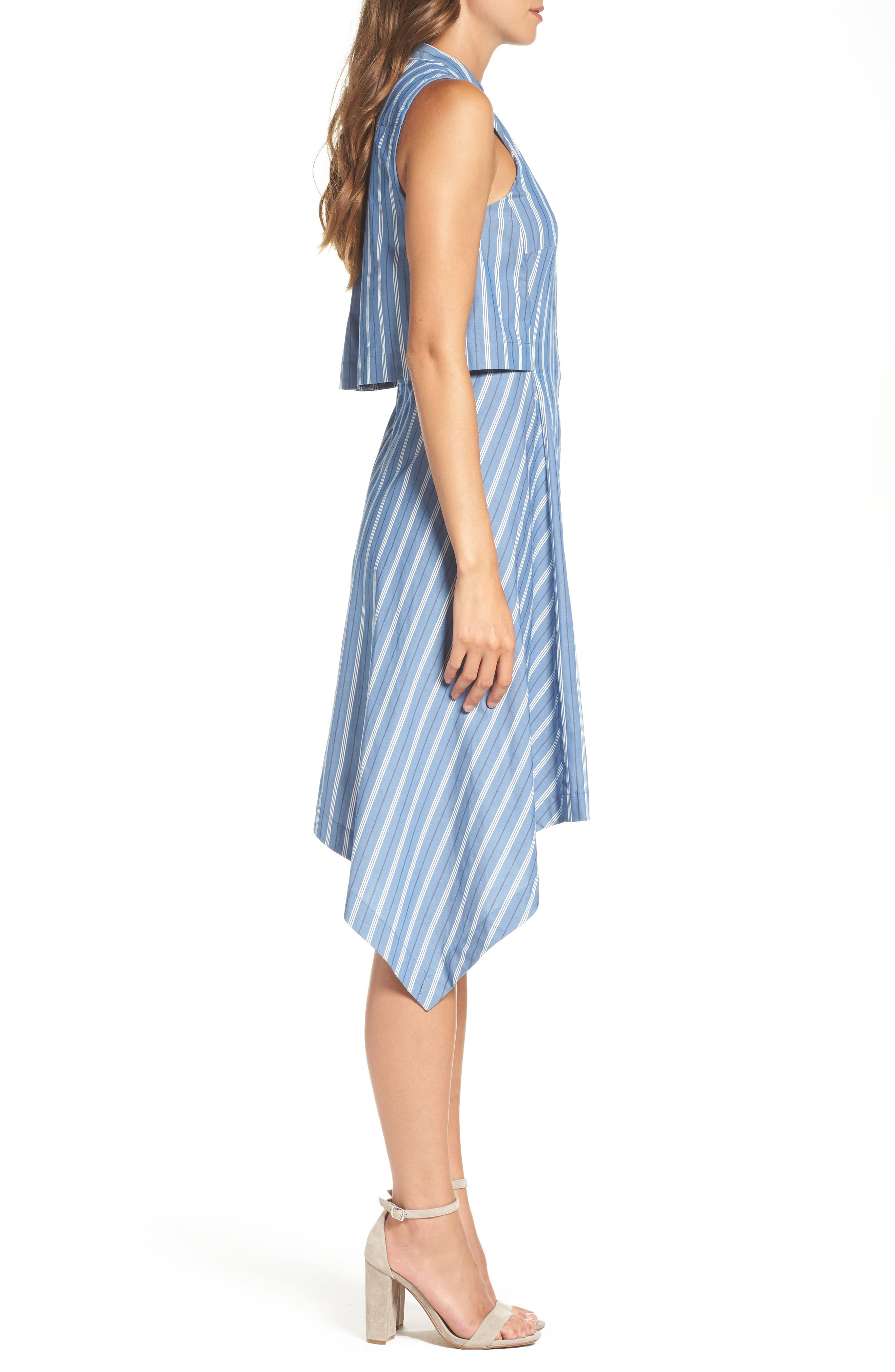 City Sleeveless Dress,                             Alternate thumbnail 3, color,                             404
