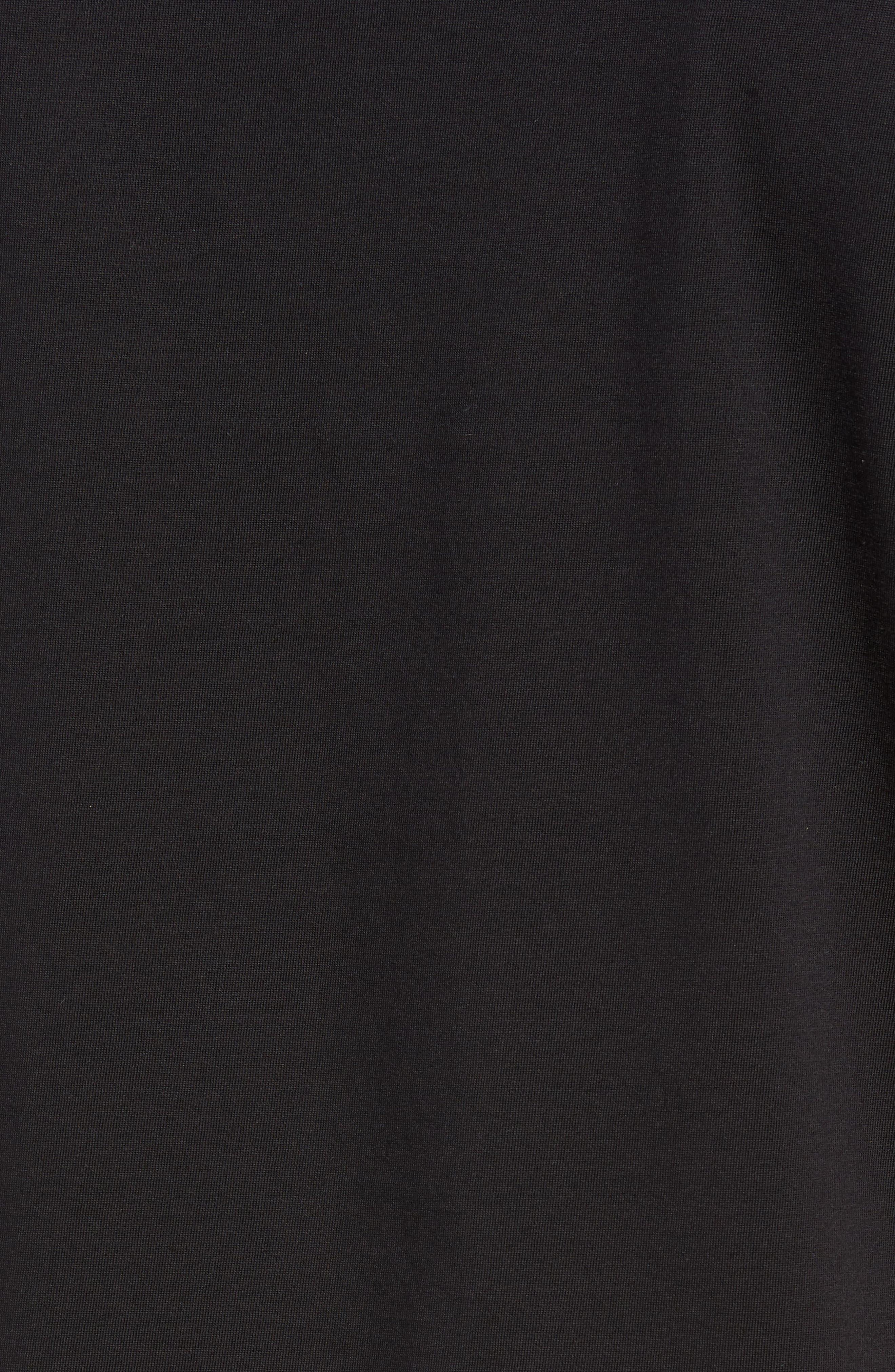 Tiburt Regular Fit Crewneck T-Shirt,                             Alternate thumbnail 5, color,                             001