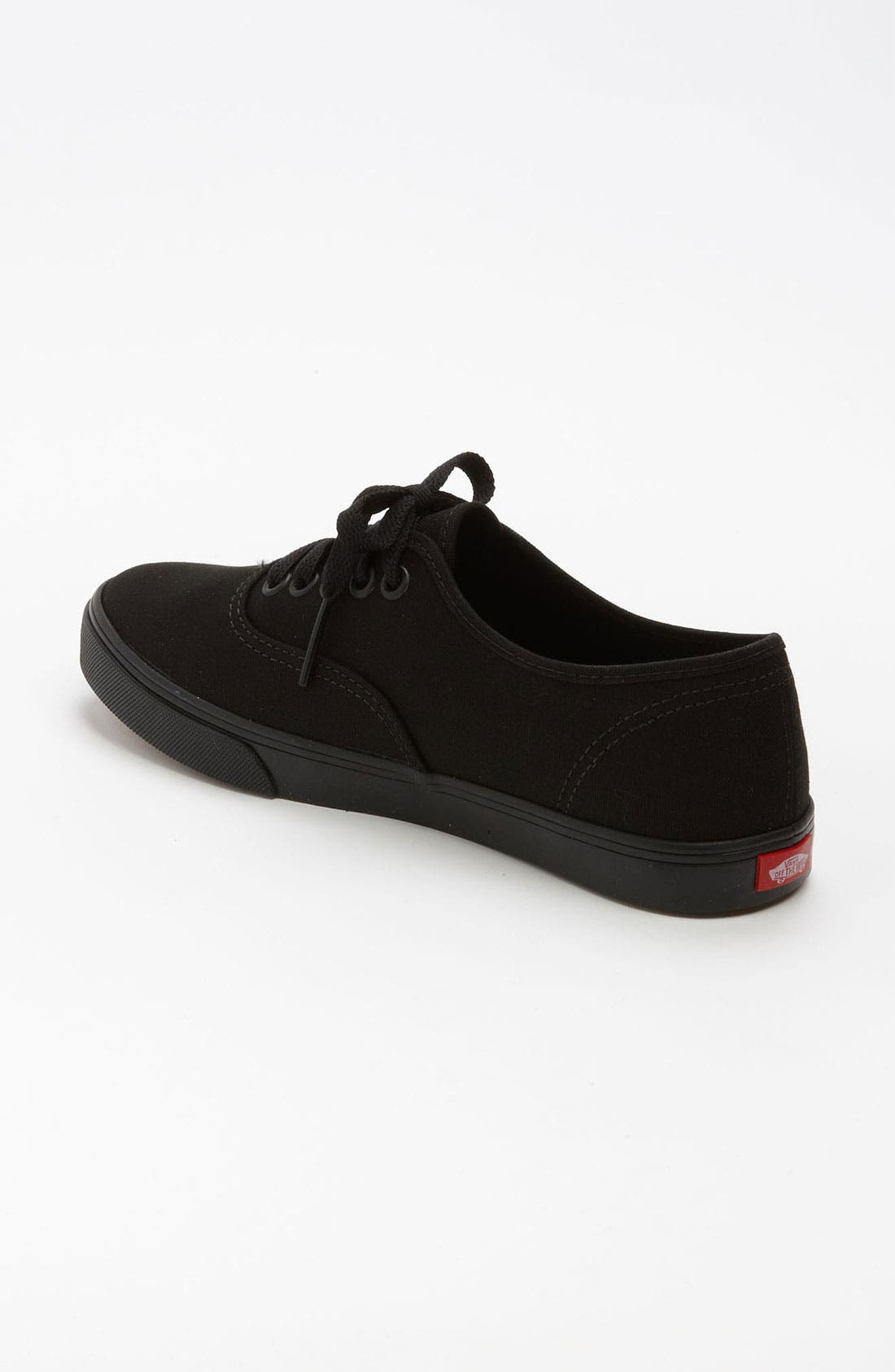 'Authentic - Lo Pro' Sneaker,                             Alternate thumbnail 3, color,                             BLACK