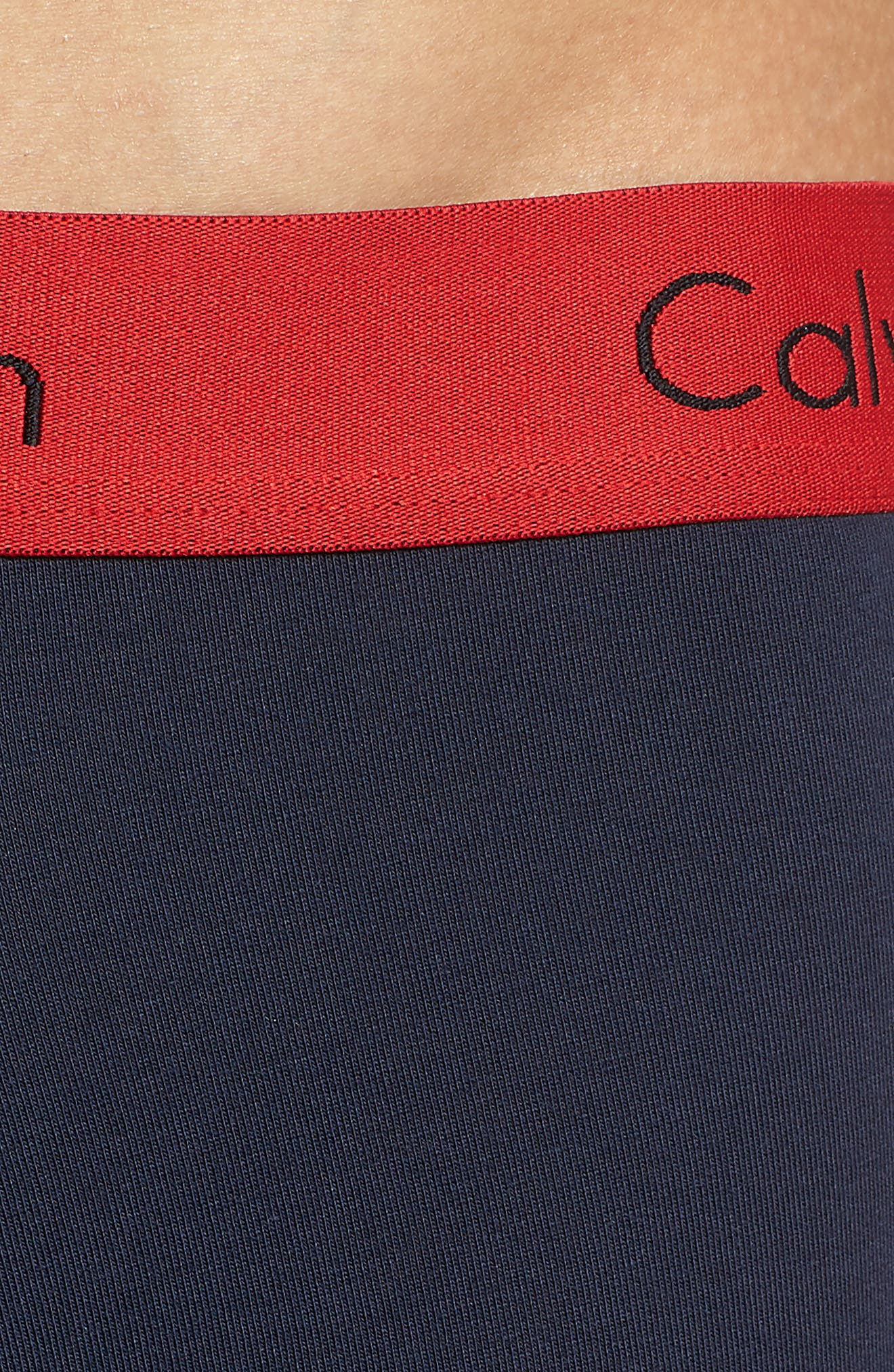 3-Pack Boxer Briefs,                             Alternate thumbnail 5, color,                             BLACK/ GREY/ BLUE/ RED BAND